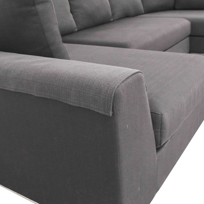 shop Modani Sectional Sofa with Two Chaises Modani