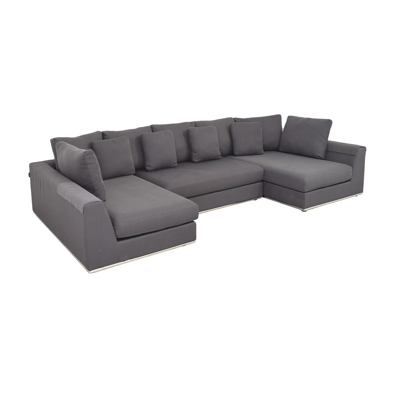 Modani Modani Sectional Sofa with Two Chaises discount