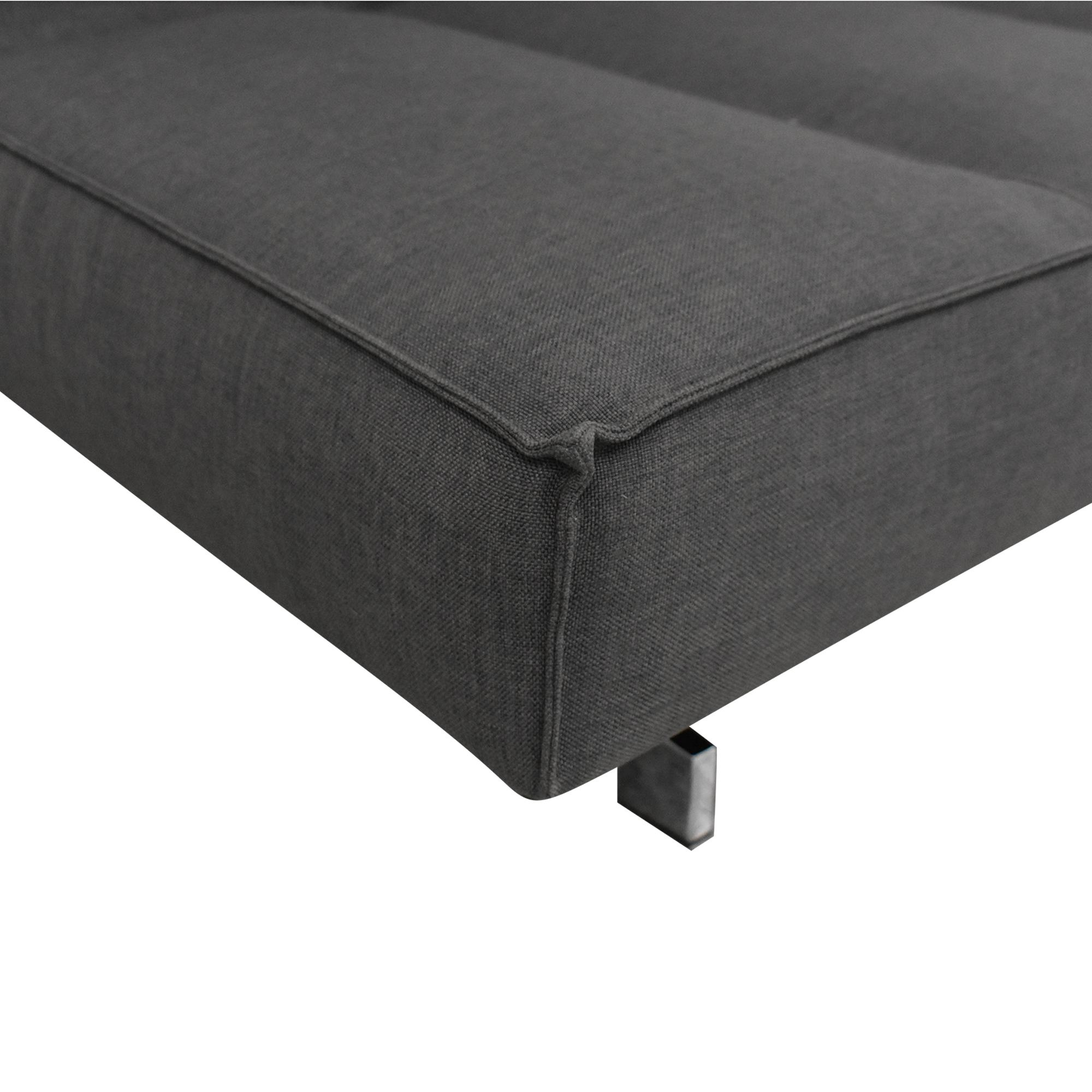 CB2 CB2 Flex Sleeper Sofa dimensions