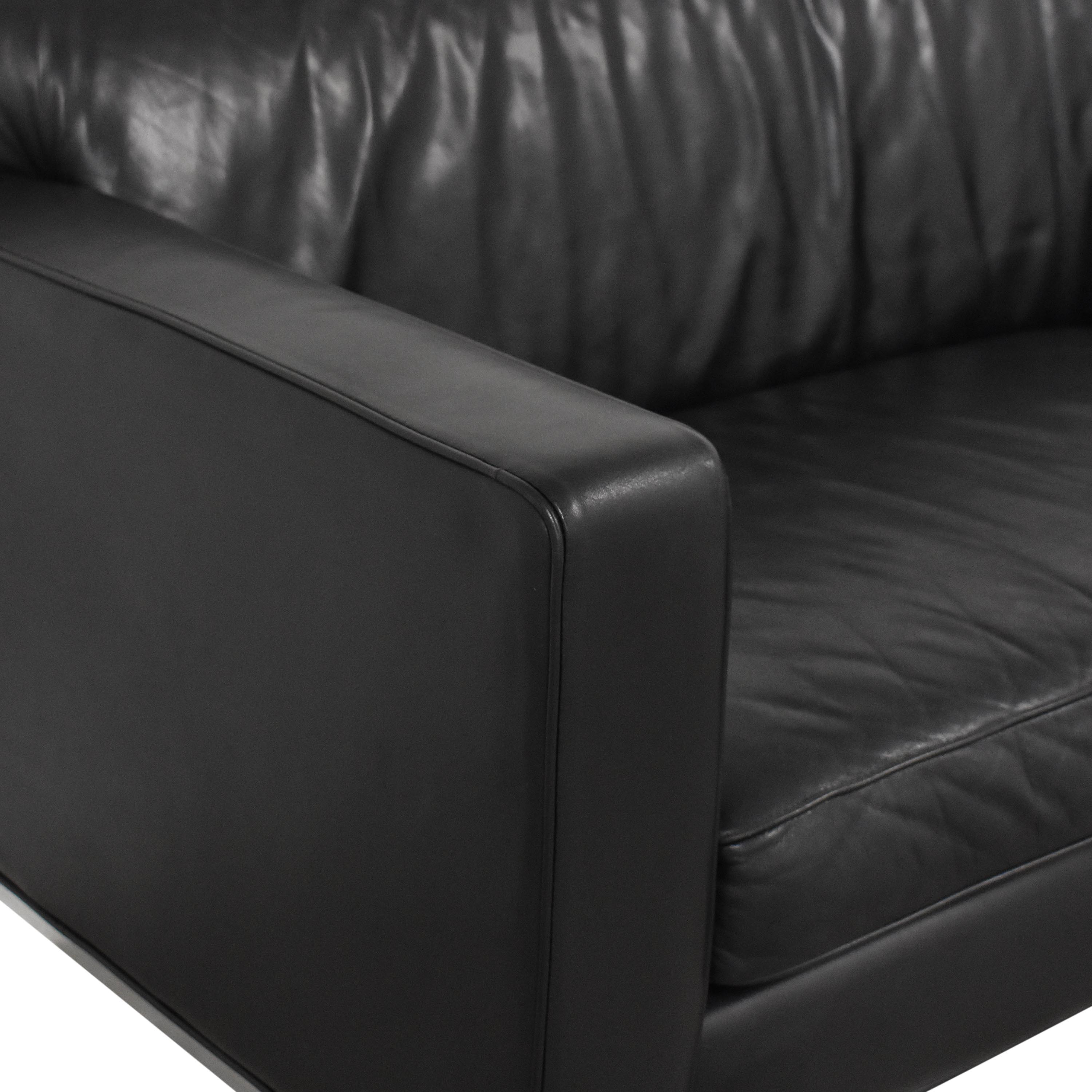 Design Within Reach Design Within Reach Theatre Two Cushion Sofa Classic Sofas