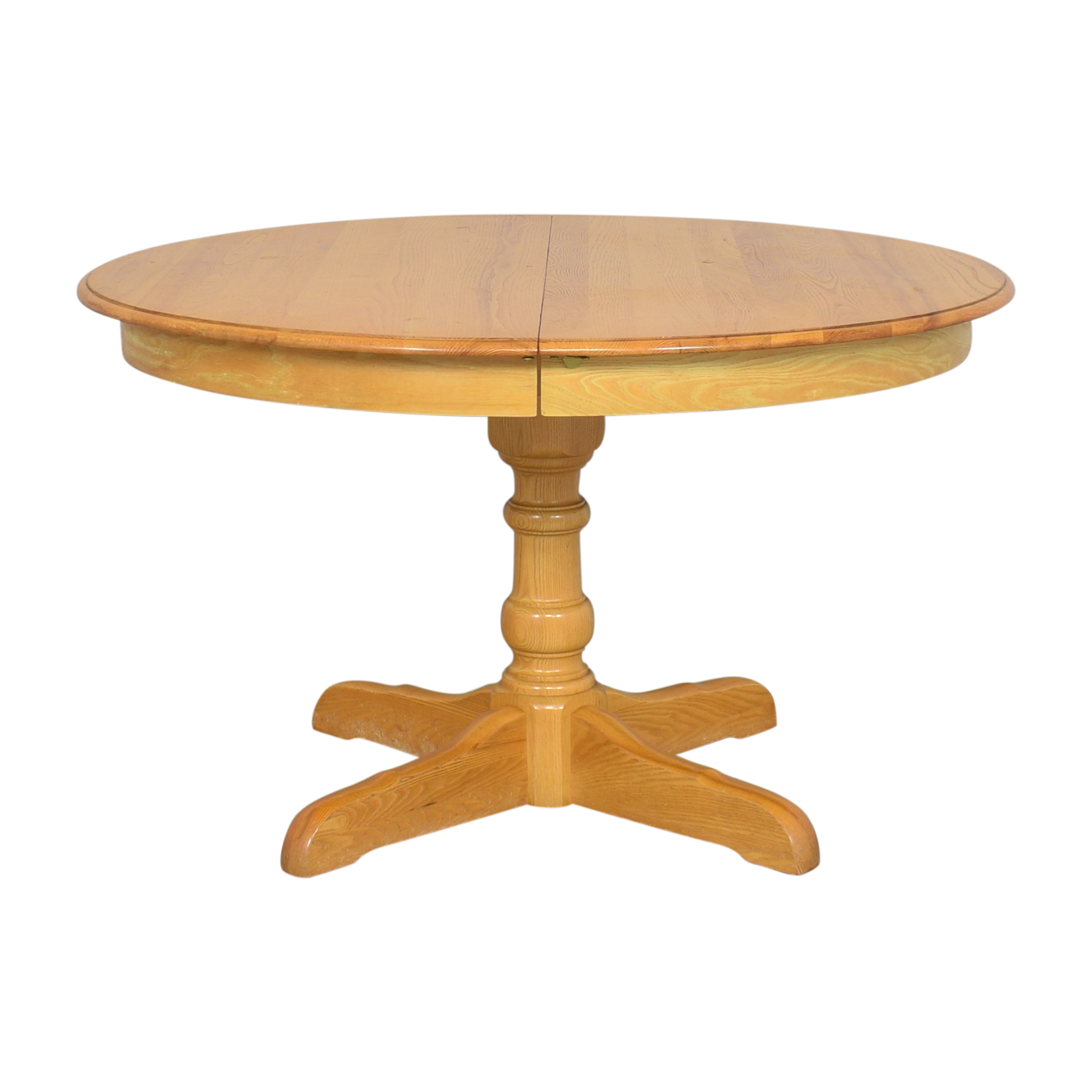 buy Hitchcock Round Extendable Dining Table Hitchcock