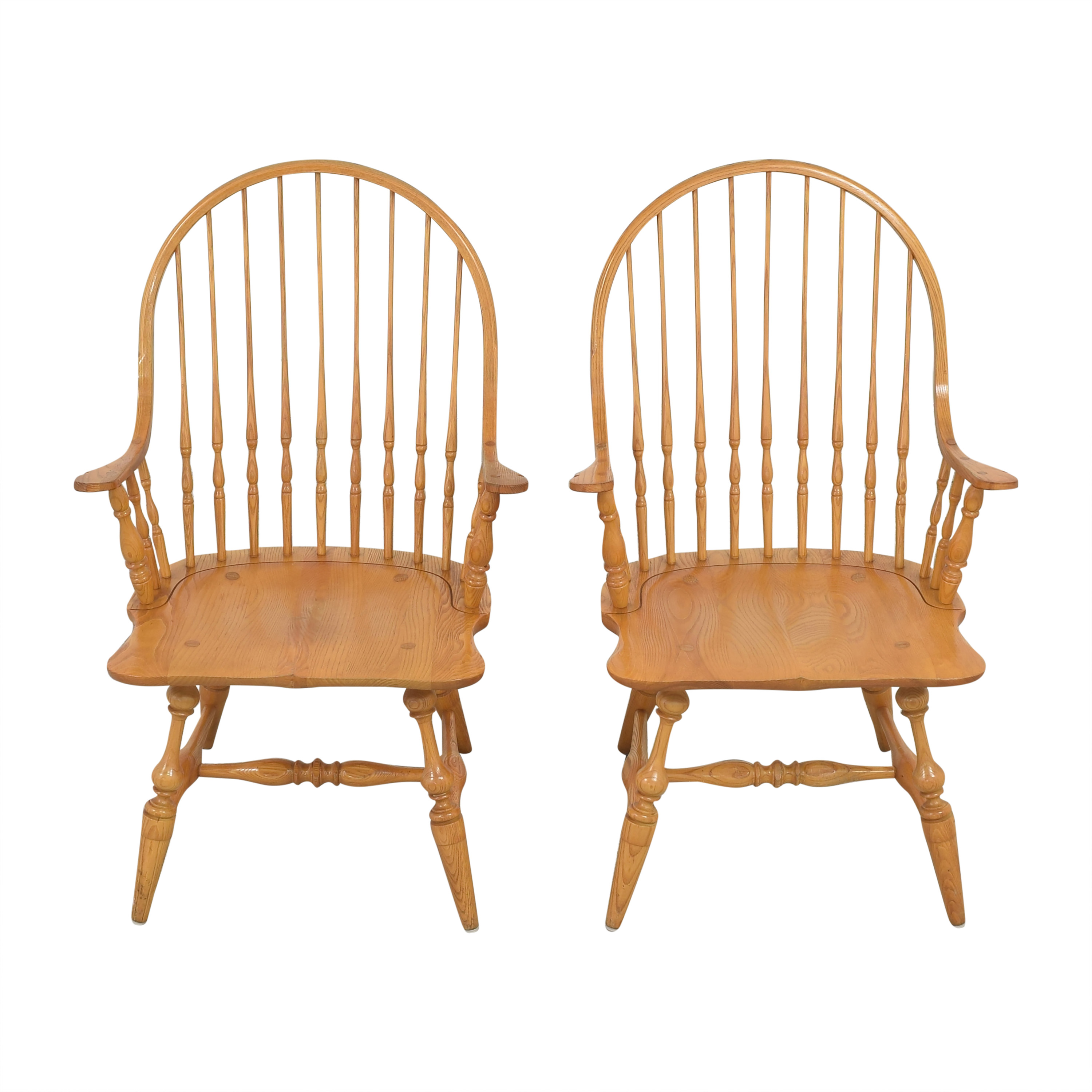 Hitchcock Hitchcock Windsor Style Dining Chairs dimensions