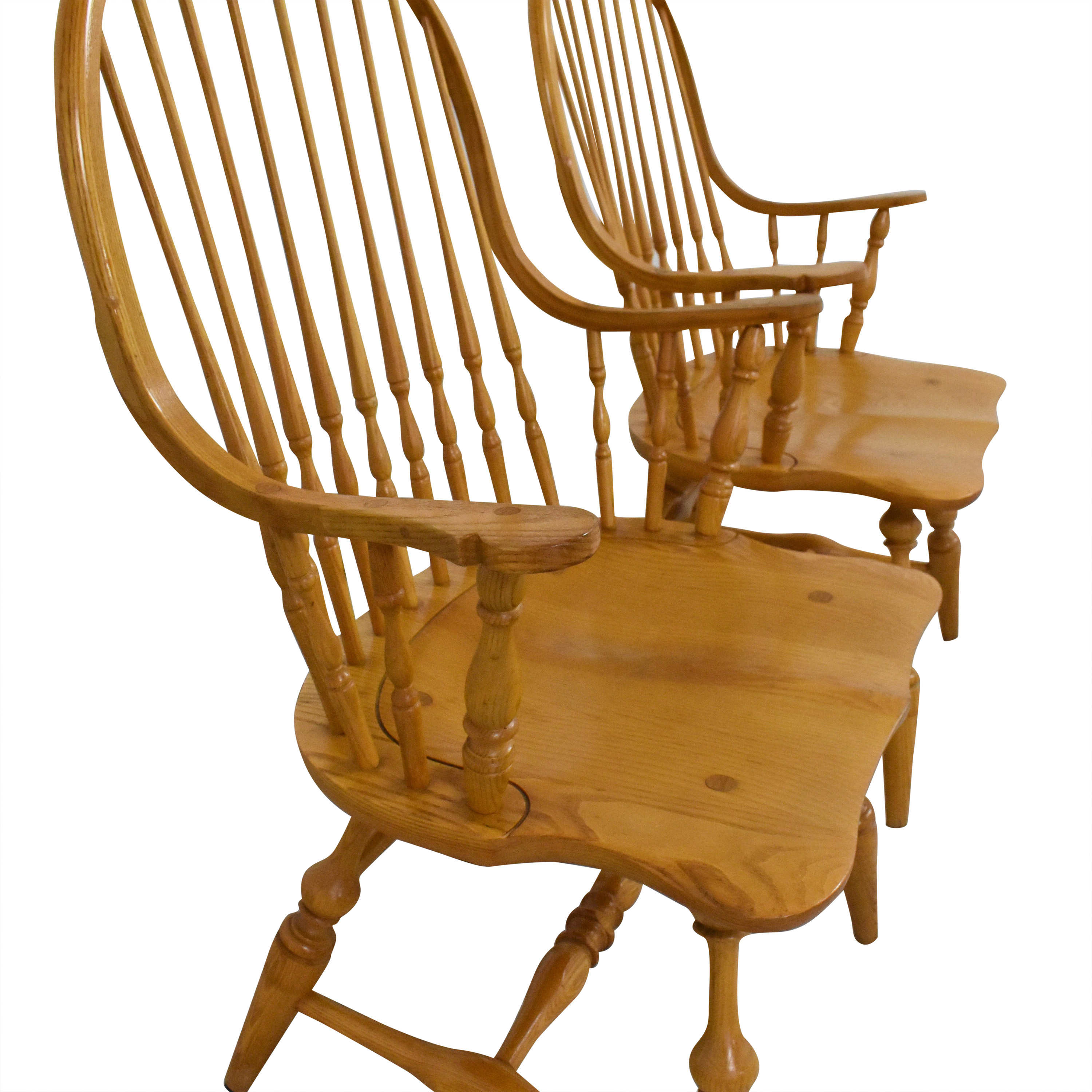 Hitchcock Windsor Style Dining Chairs / Chairs