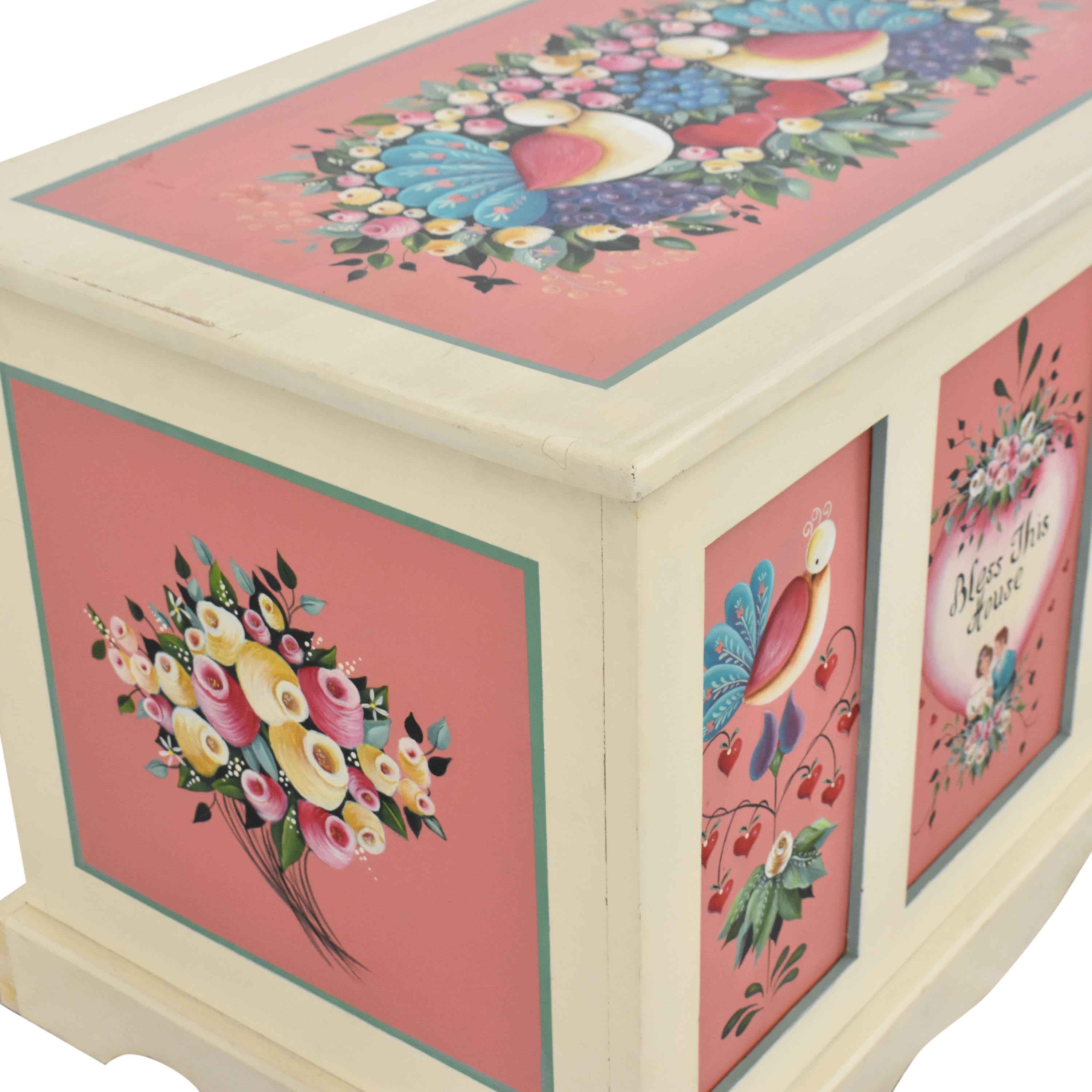 Hand Painted Hope Chest multi