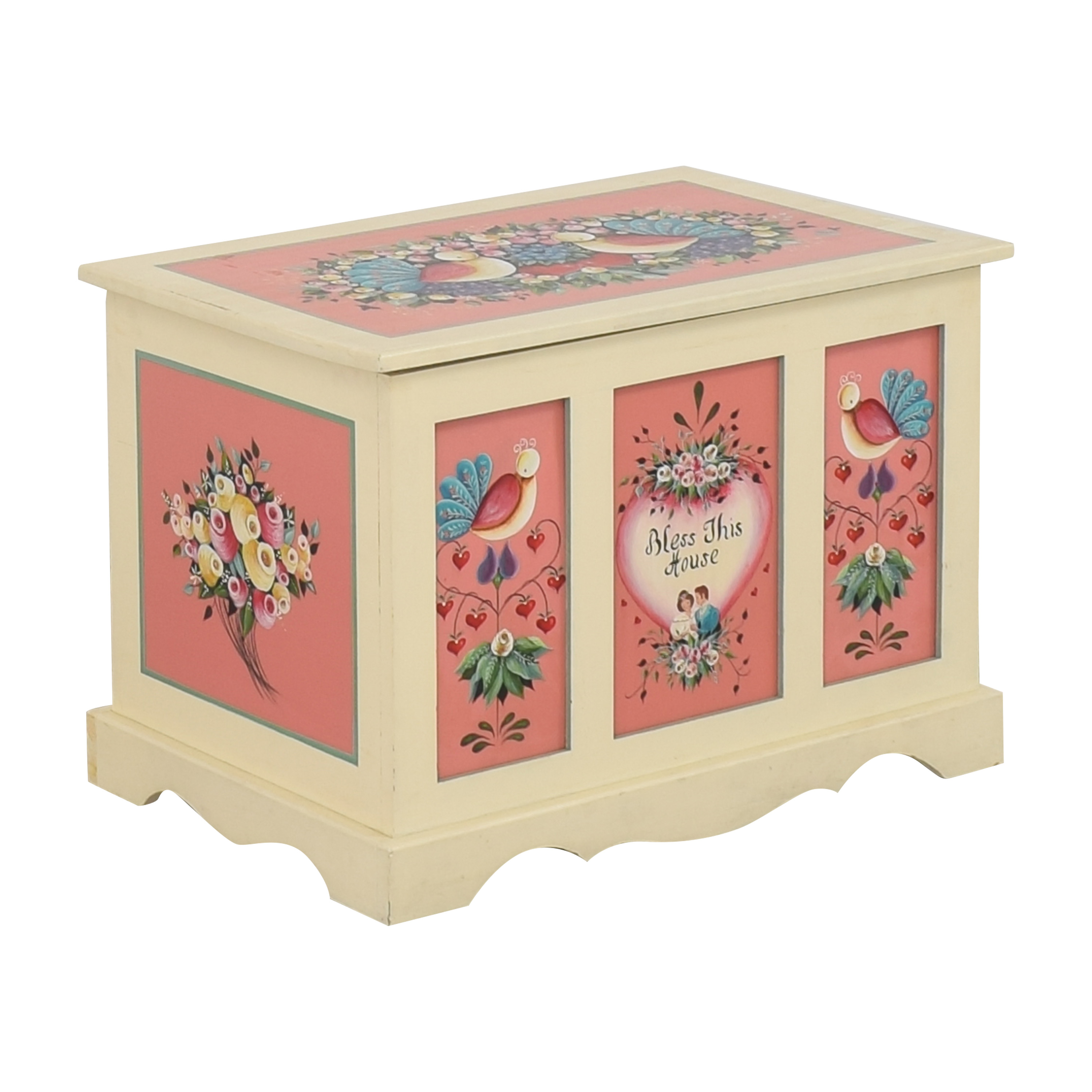 shop Hand Painted Hope Chest