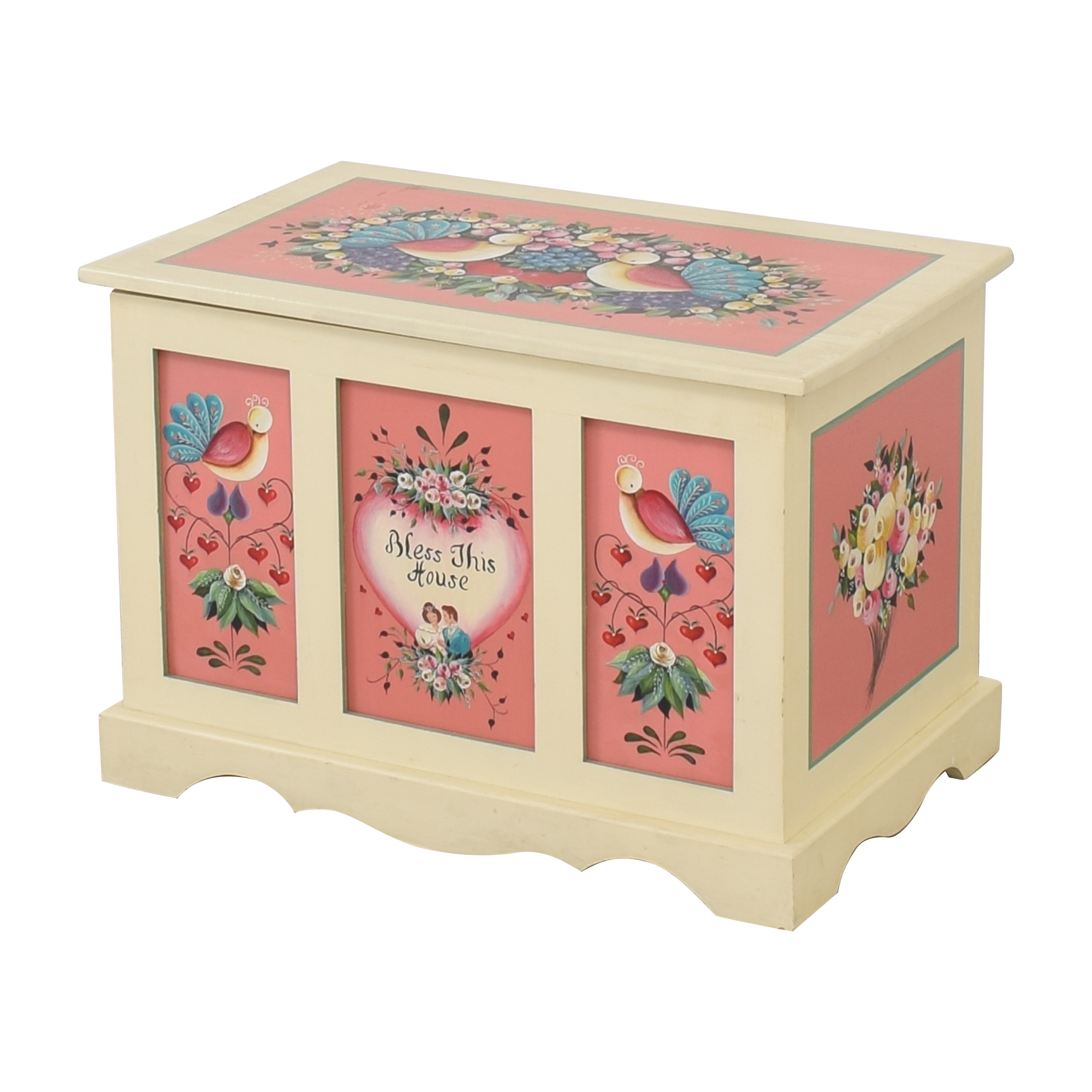 Hand Painted Hope Chest / Storage