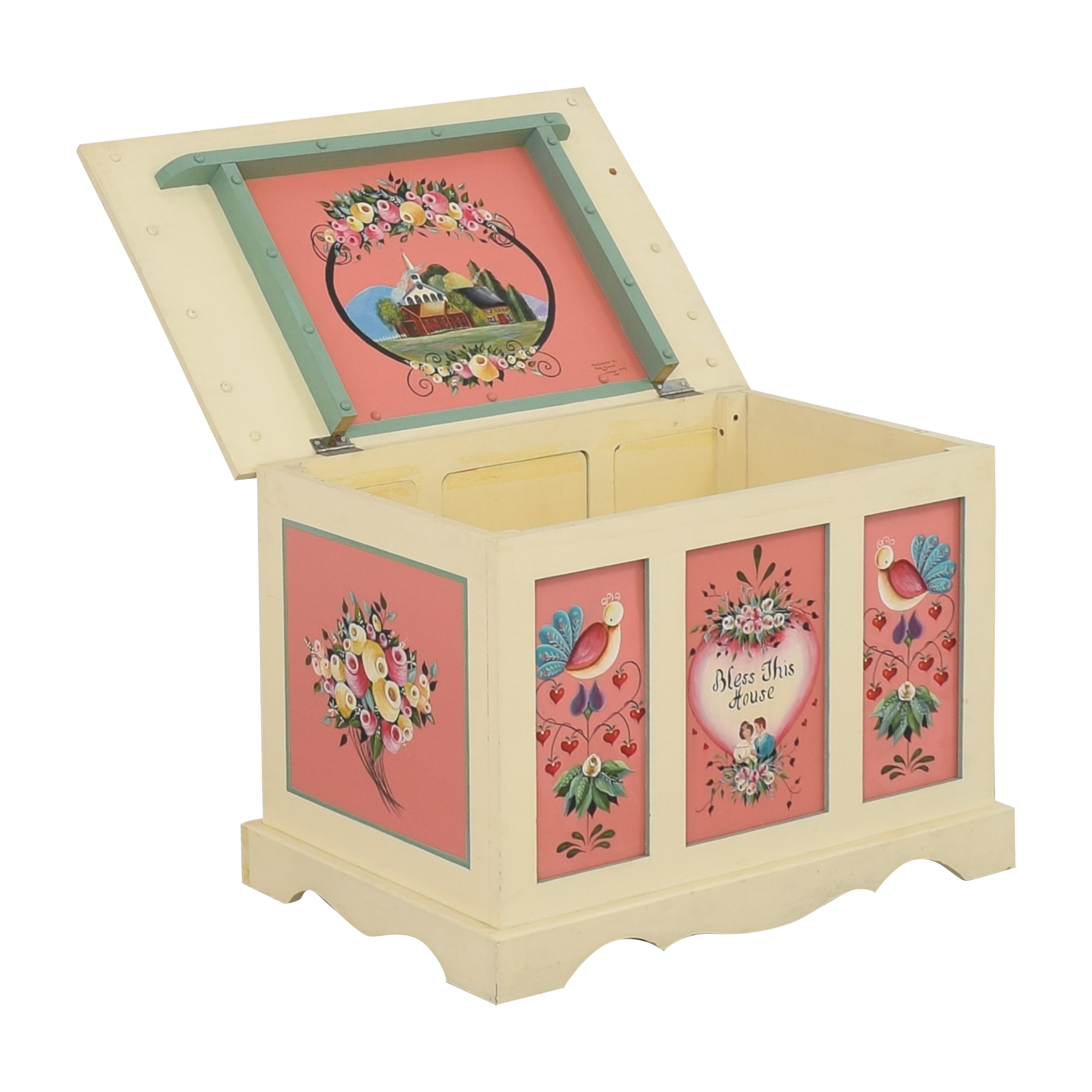 Hand Painted Hope Chest Trunks