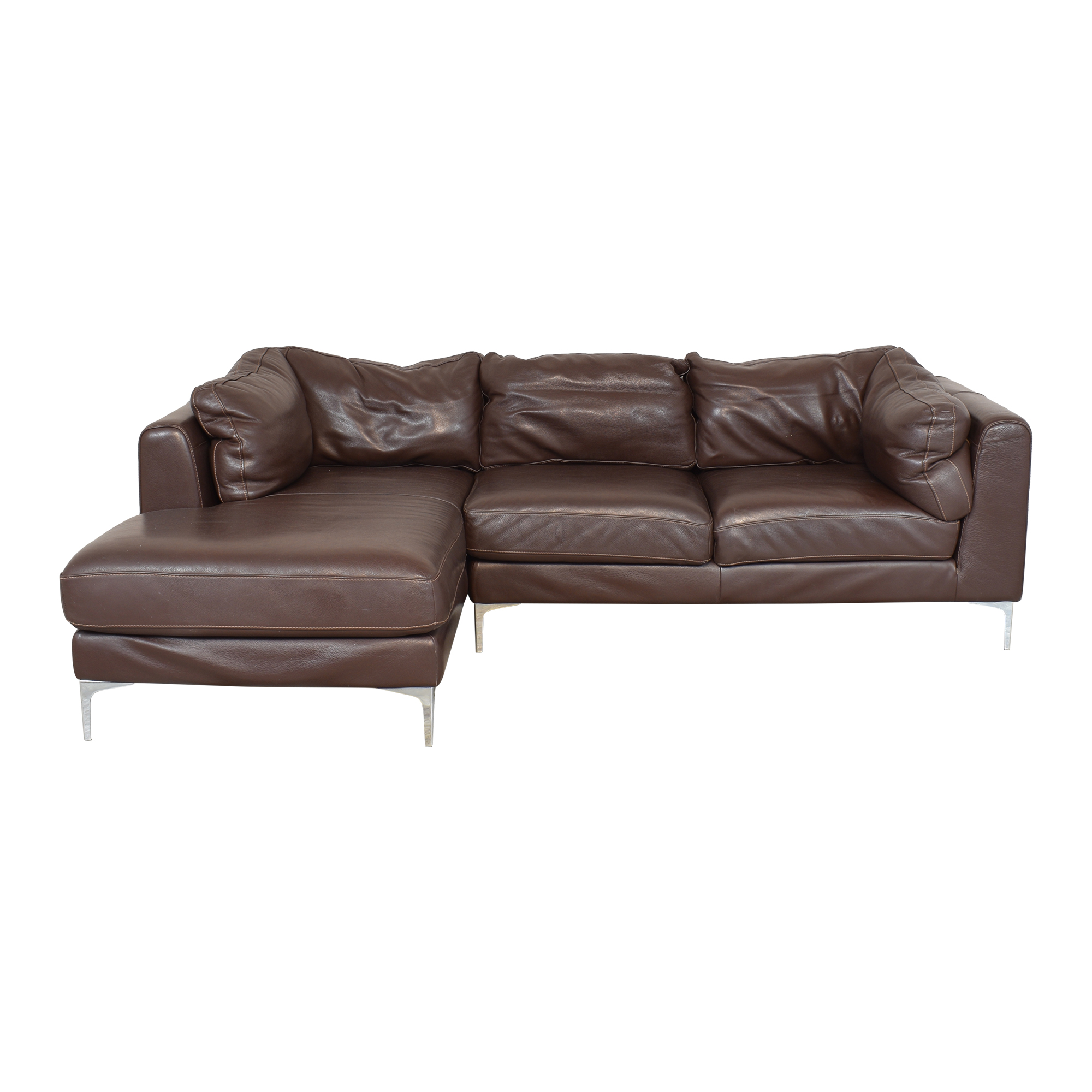 Design Within Reach Design Within Reach Nicoletti Sectional Sofa with Chaise ma
