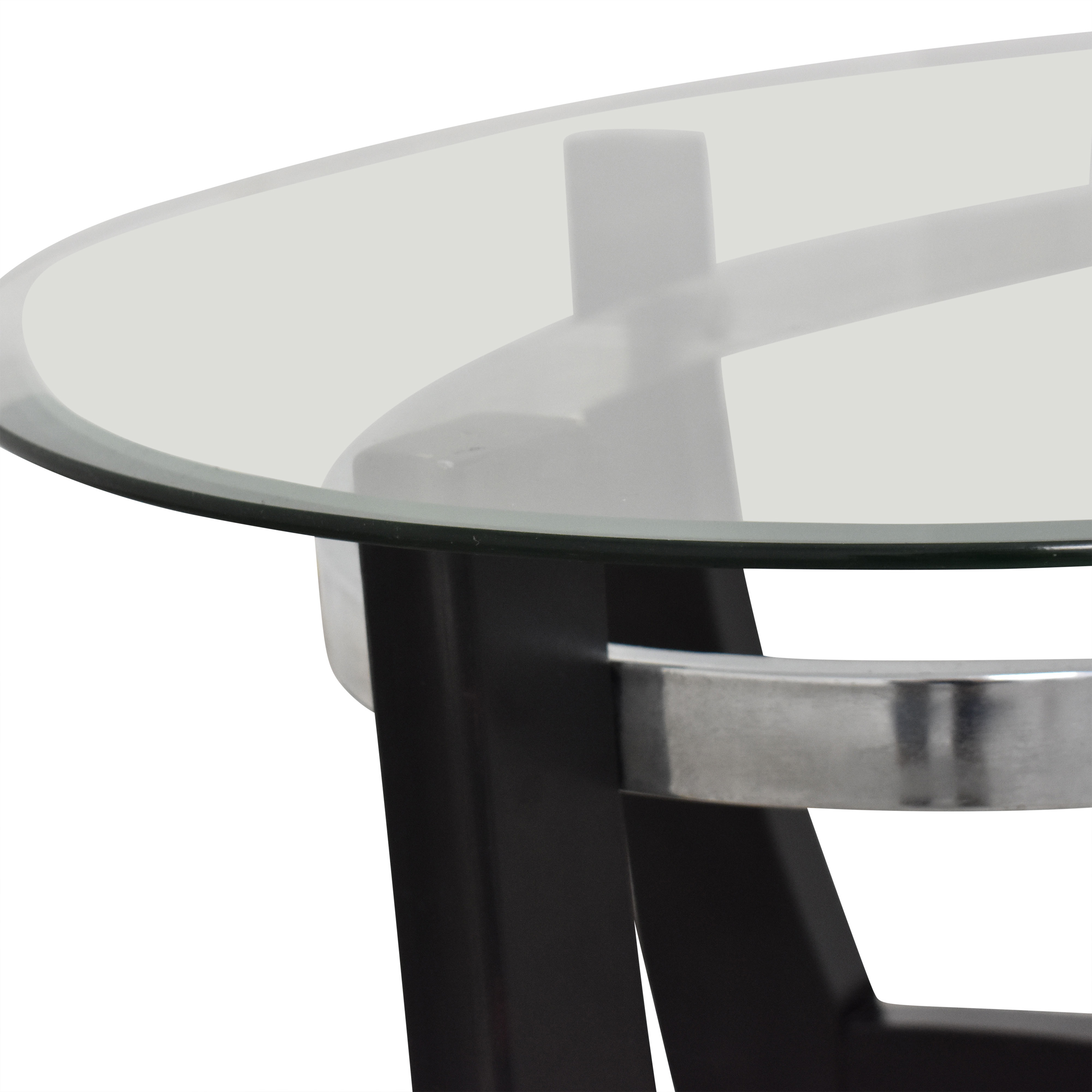 shop Macy's Macy's Modern Coffee Table with Transparent Surface online