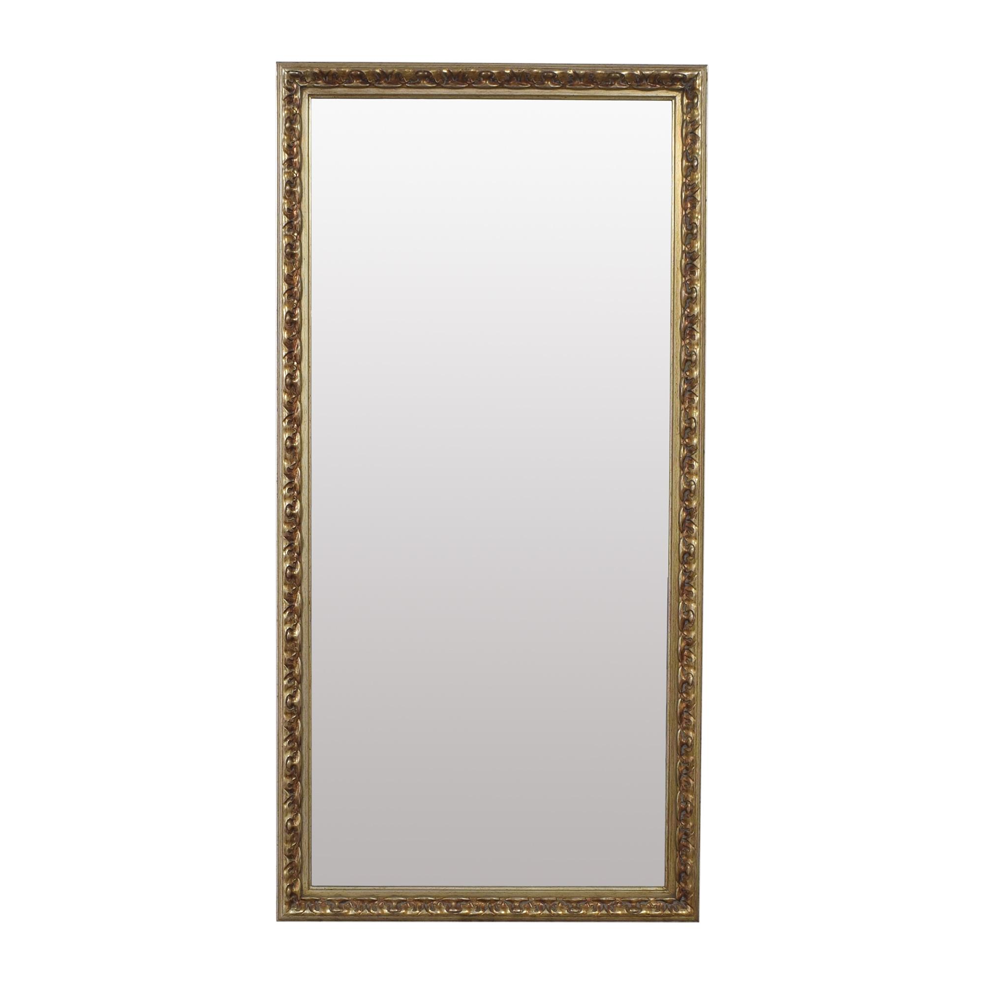 Bassett Mirror Company Bassett Mirror Company Framed Floor Mirror ma