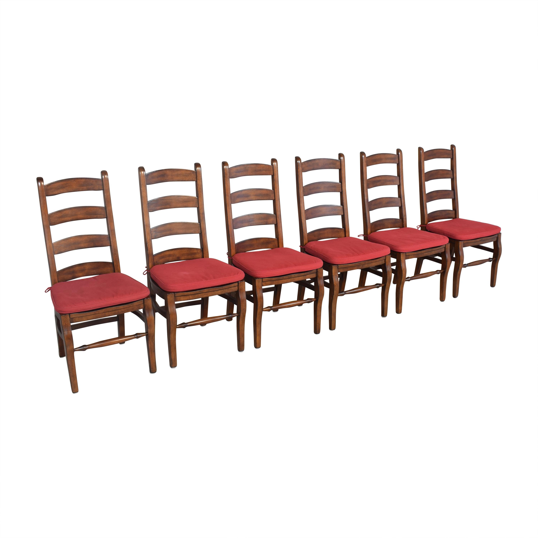 Pottery Barn Wynn Ladderback Dining Chairs / Chairs