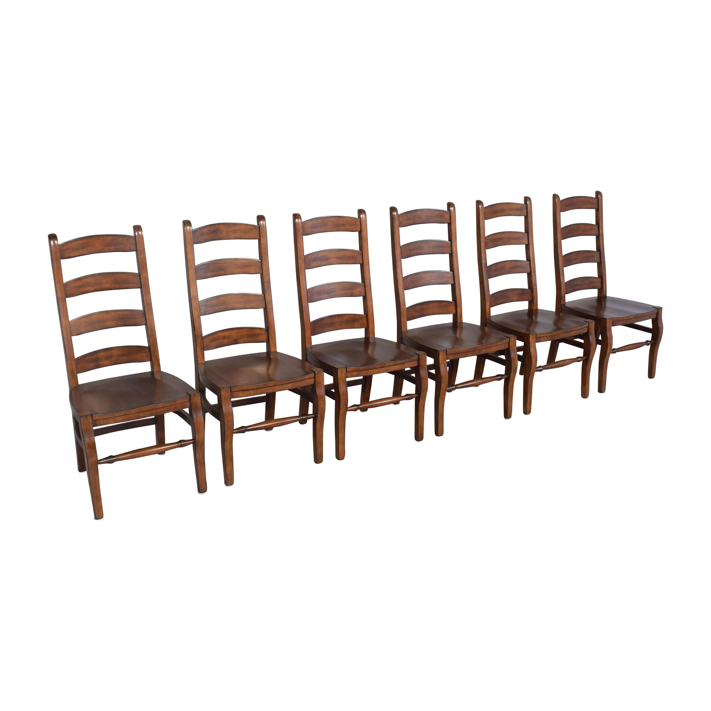 buy Pottery Barn Wynn Ladderback Dining Chairs Pottery Barn