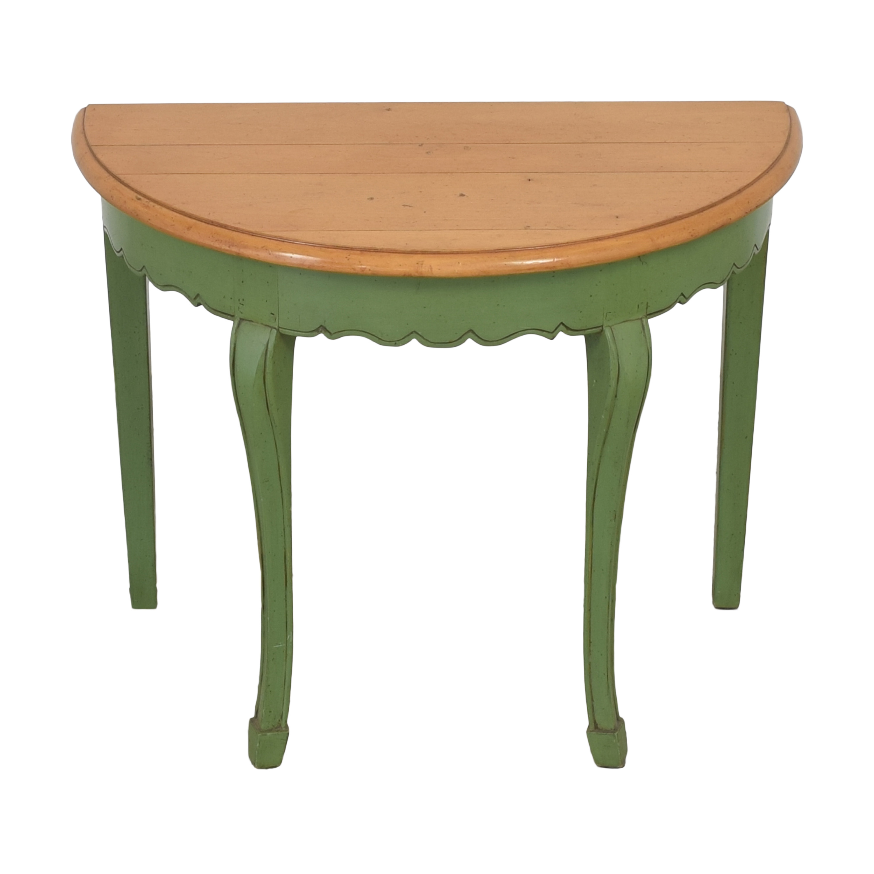 shop Guy Chaddock & Co. Demilune Console Table Guy Chaddock & Co. Tables