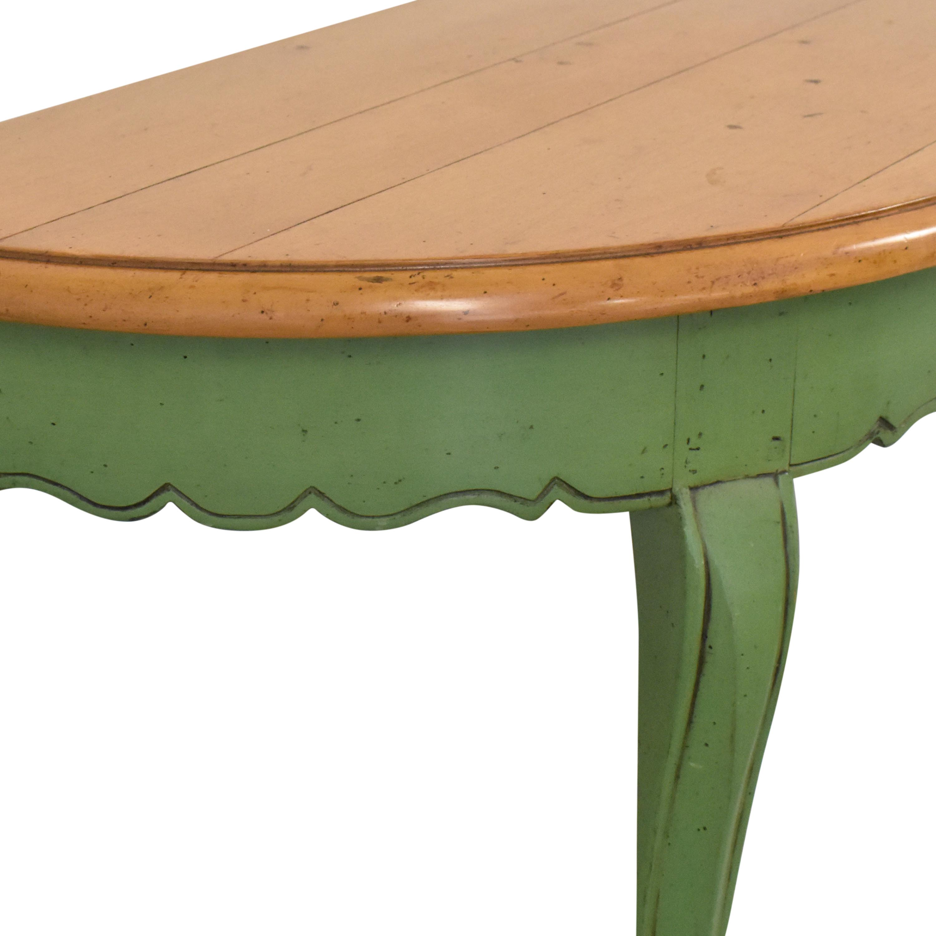 buy Guy Chaddock & Co. Demilune Console Table Guy Chaddock & Co. Accent Tables