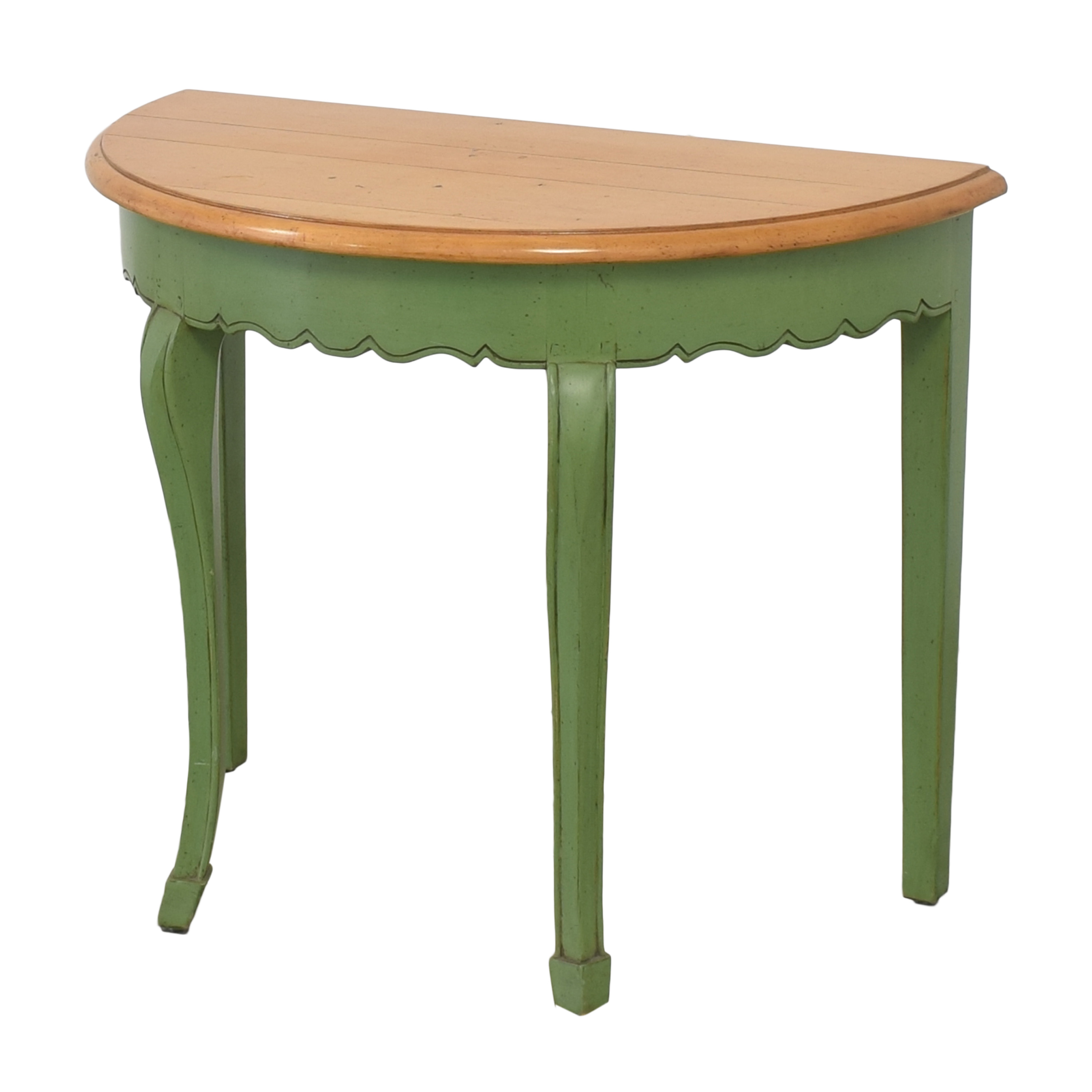 shop Guy Chaddock & Co. Demilune Console Table Guy Chaddock & Co.