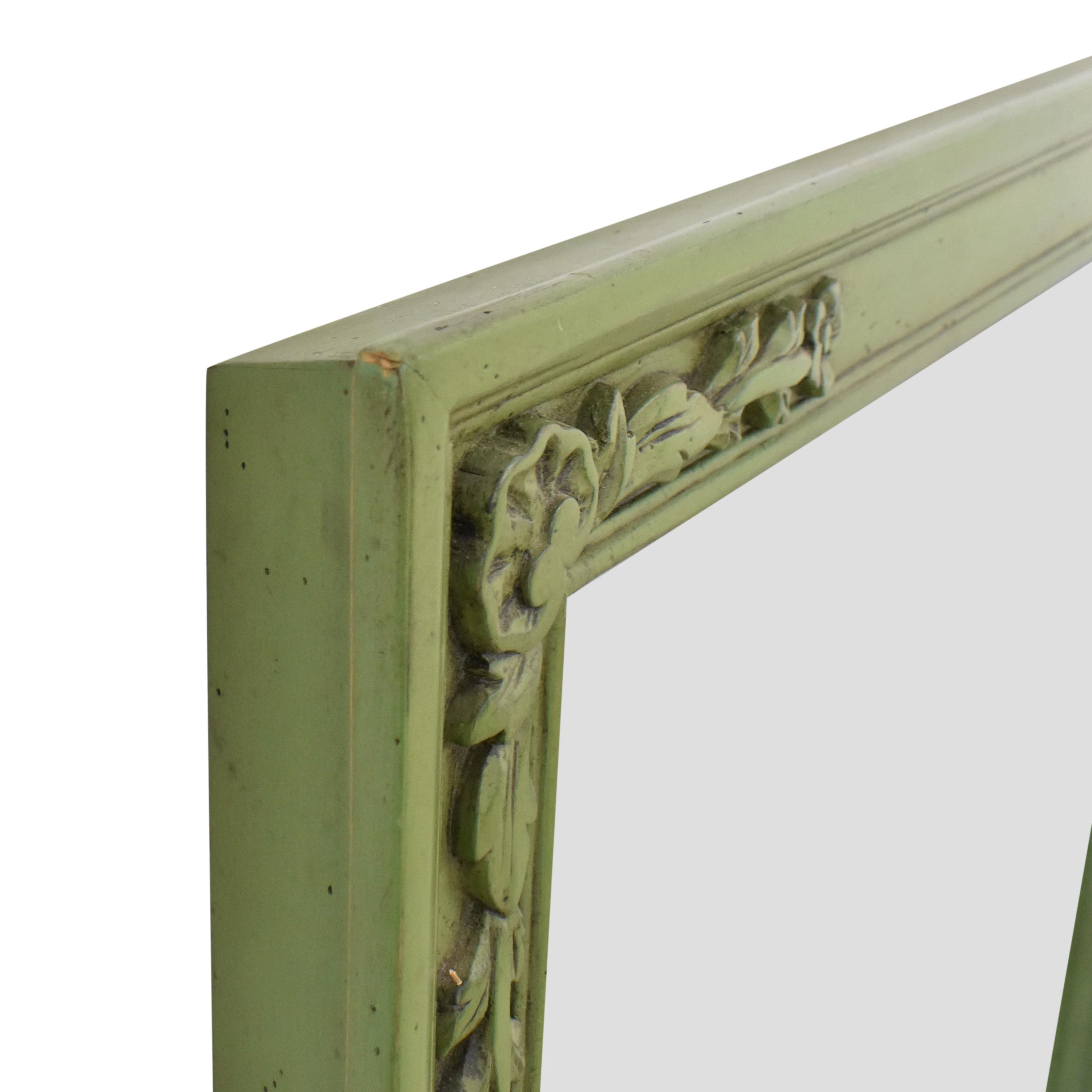 Guy Chaddock & Co. Guy Chaddock & Co. Framed Mirror with Floral Carving for sale