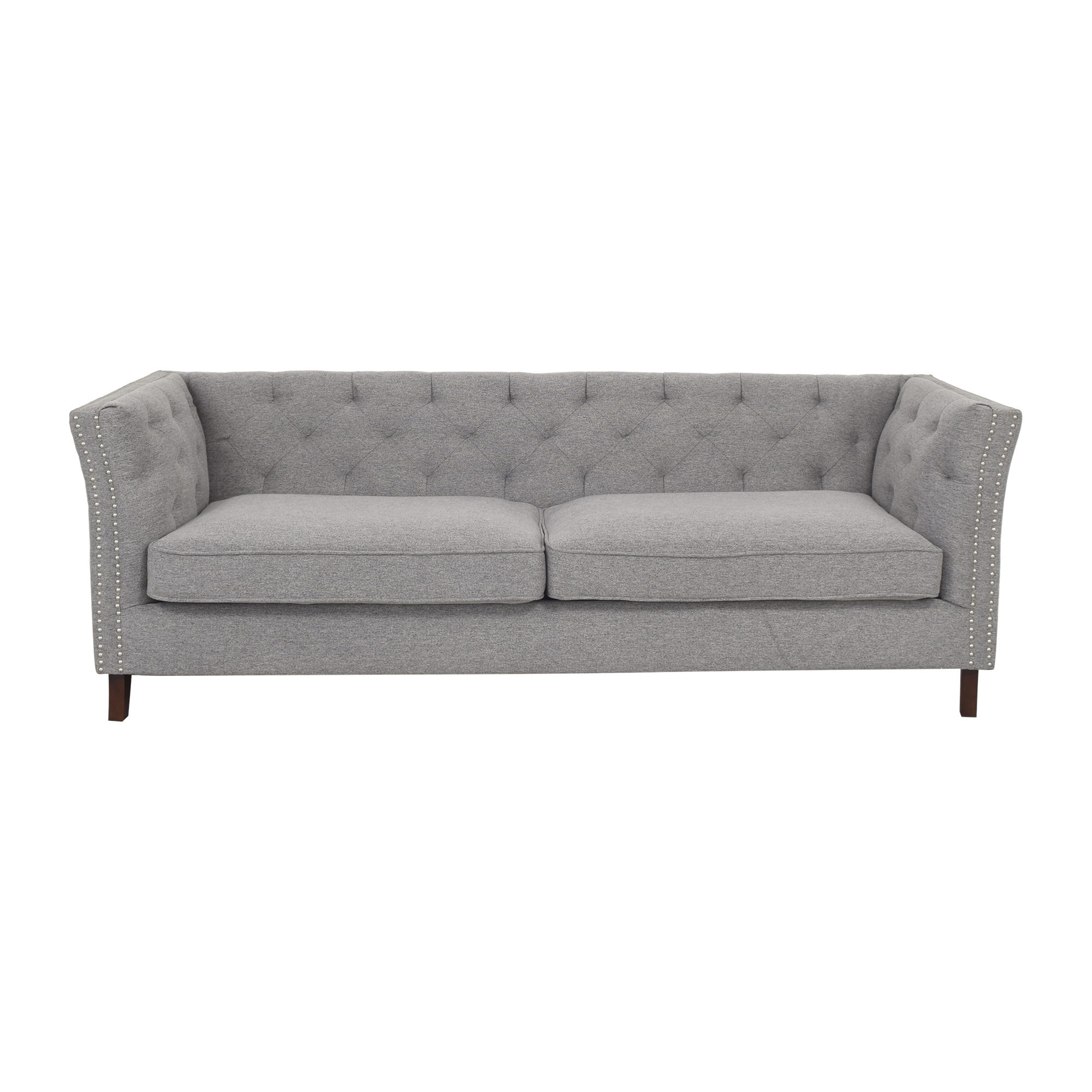 shop Wayfair Tufted Nailhead Trim Sofa Wayfair Sofas
