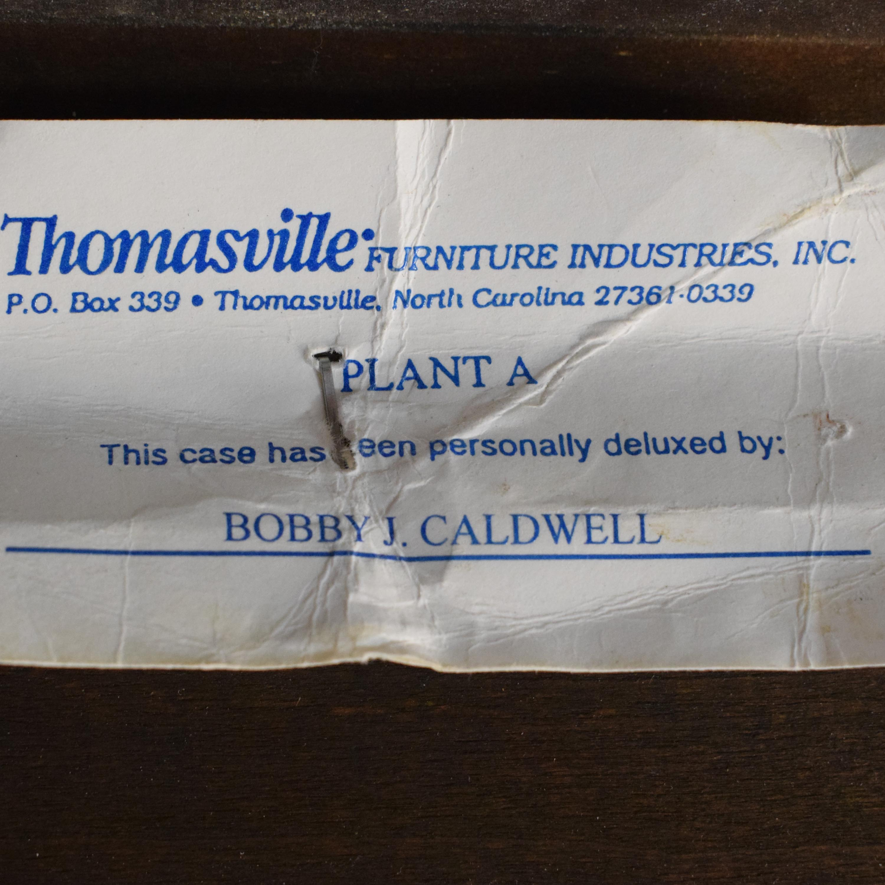 46 Off Thomasville Thomasville King Sleigh Bed Beds