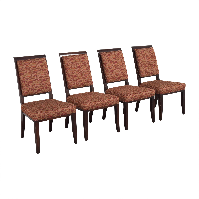 Henredon Furniture Upholstered Dining Chairs Henredon Furniture