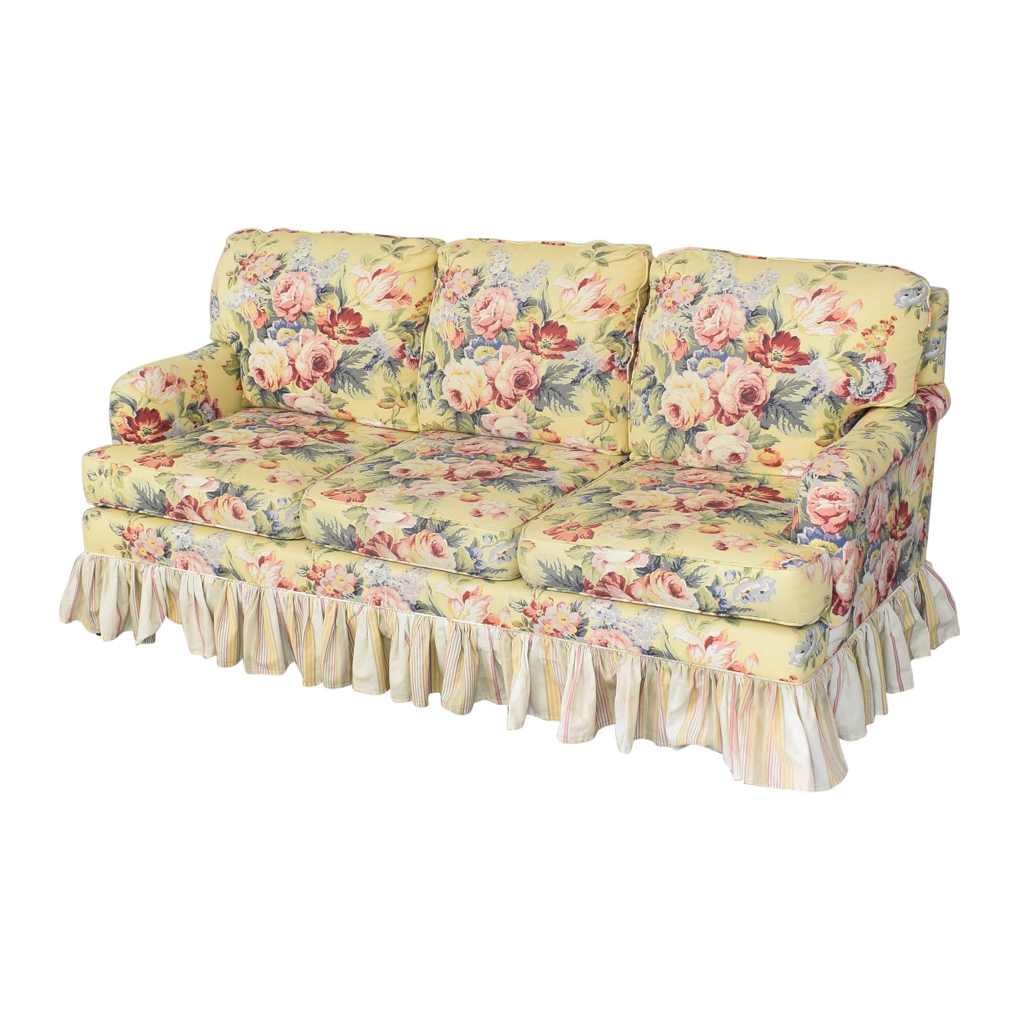 Sleepworks Sleepworks Custom Floral Sofa nyc
