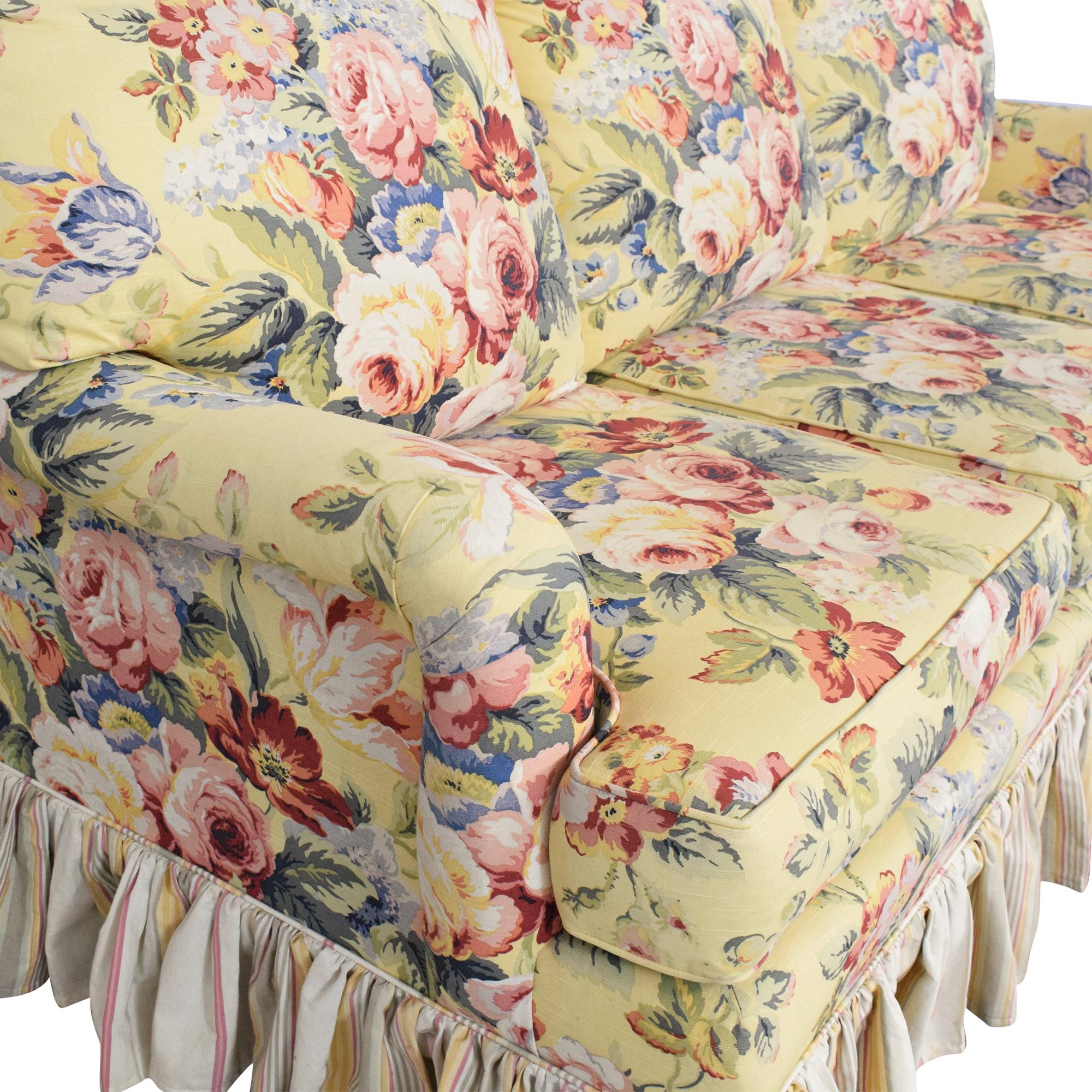 Sleepworks Sleepworks Custom Floral Sofa for sale