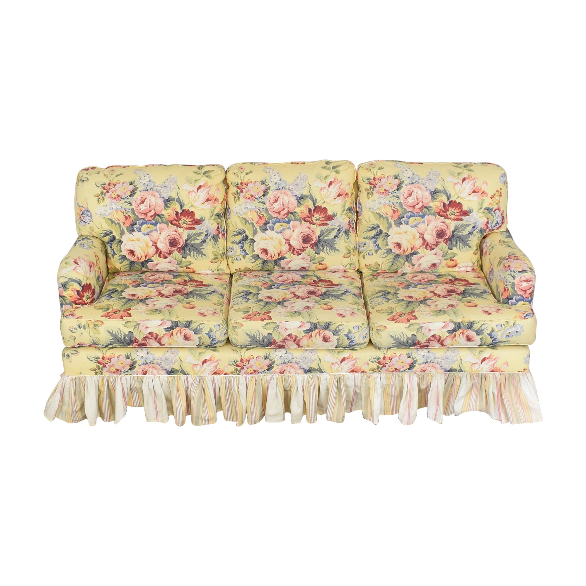 Sleepworks Sleepworks Custom Floral Sofa nj