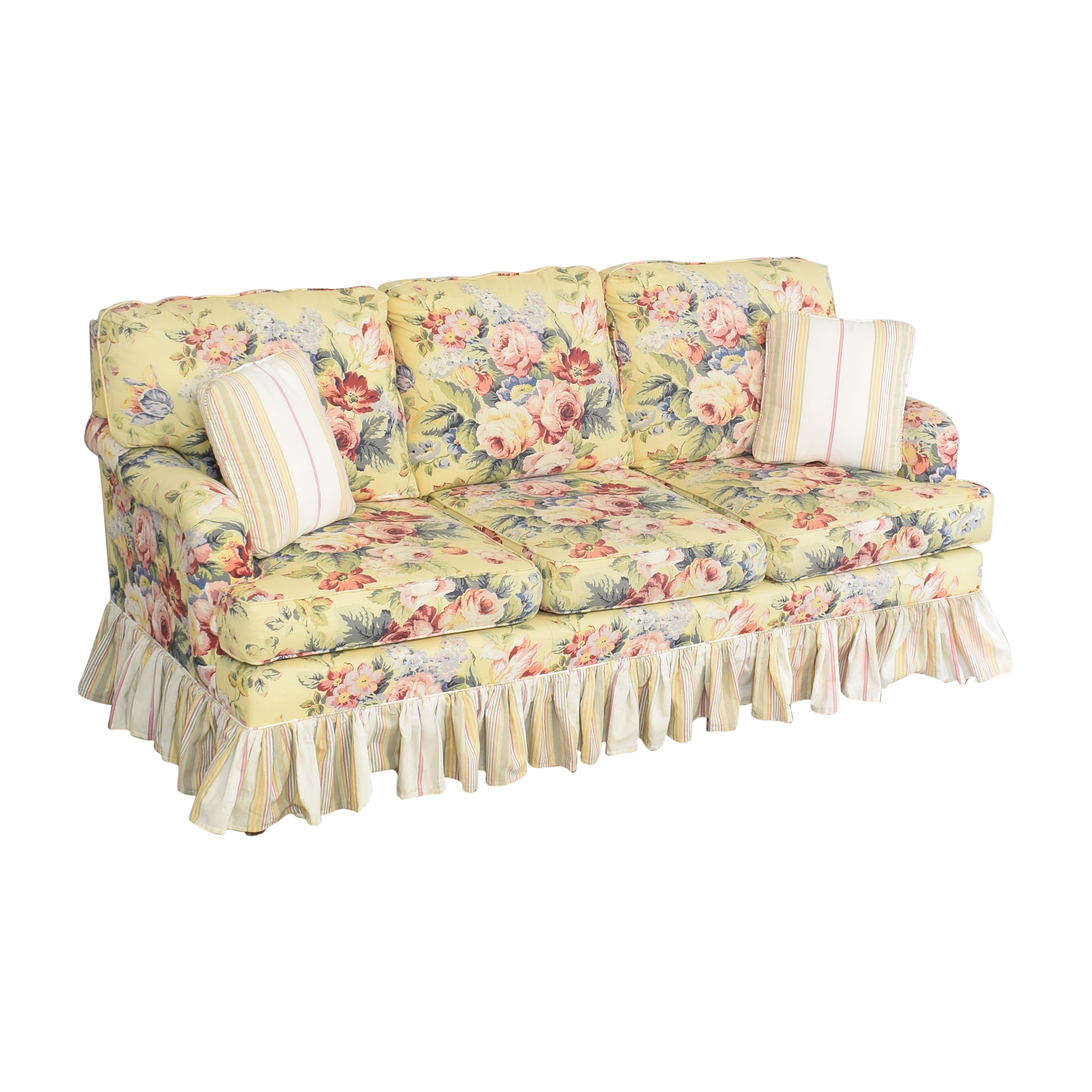Sleepworks Sleepworks Custom Floral Sofa pa