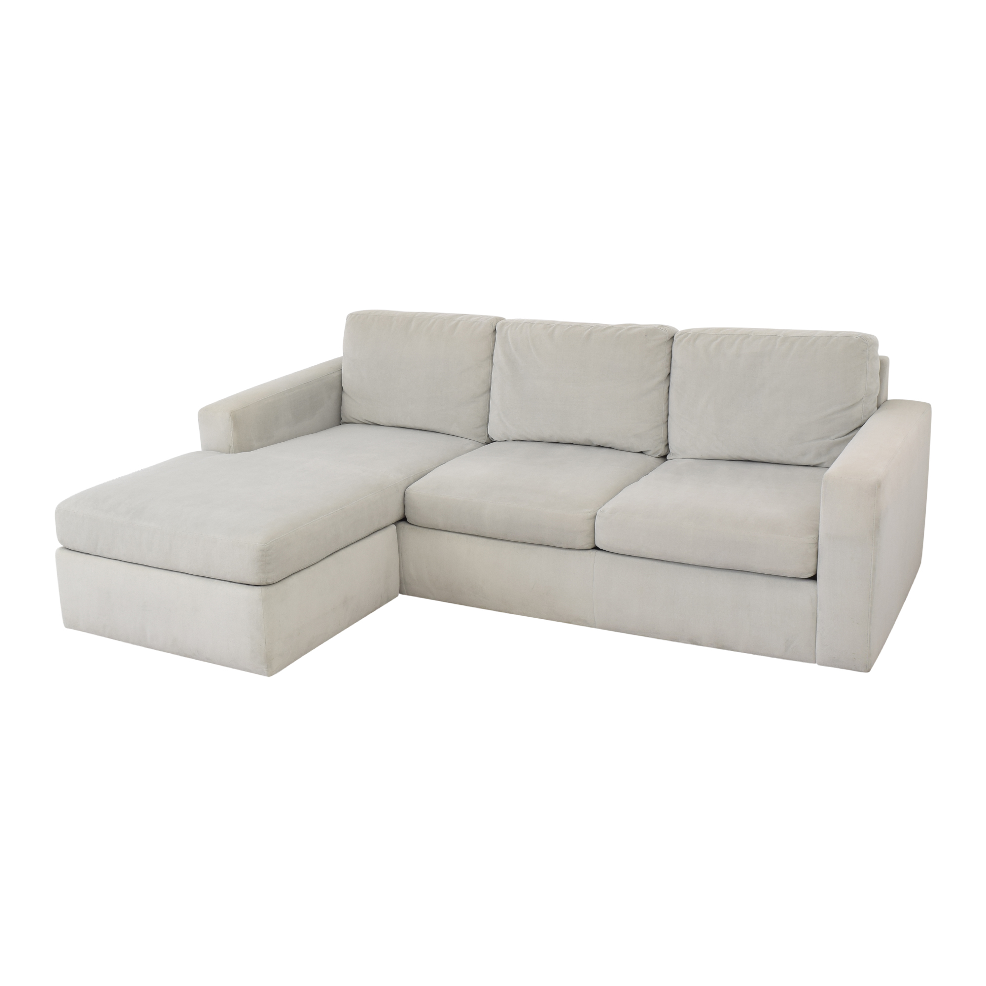 Room & Board Room & Board Taft Sofa with Chaise pa