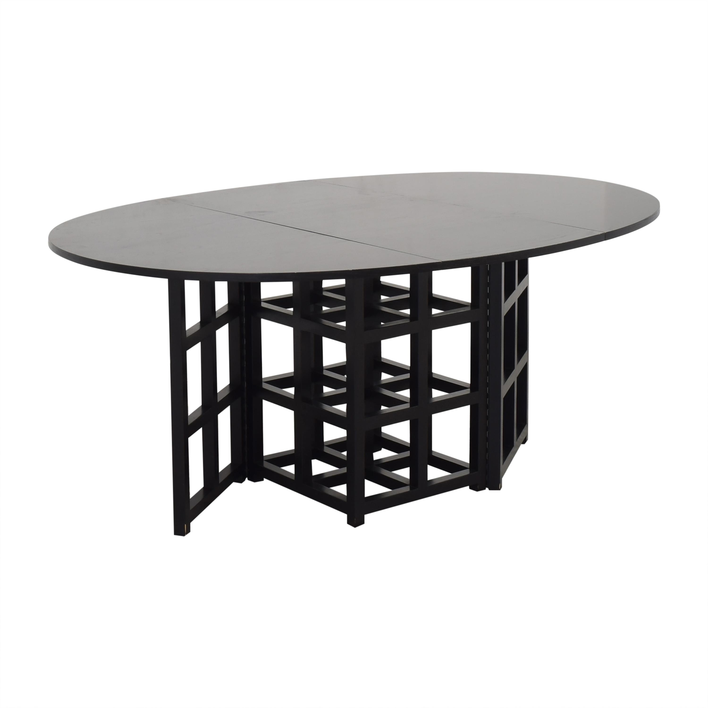 Cassina Cassina Gateleg Dining Table by Charles Rennie Macintosh pa