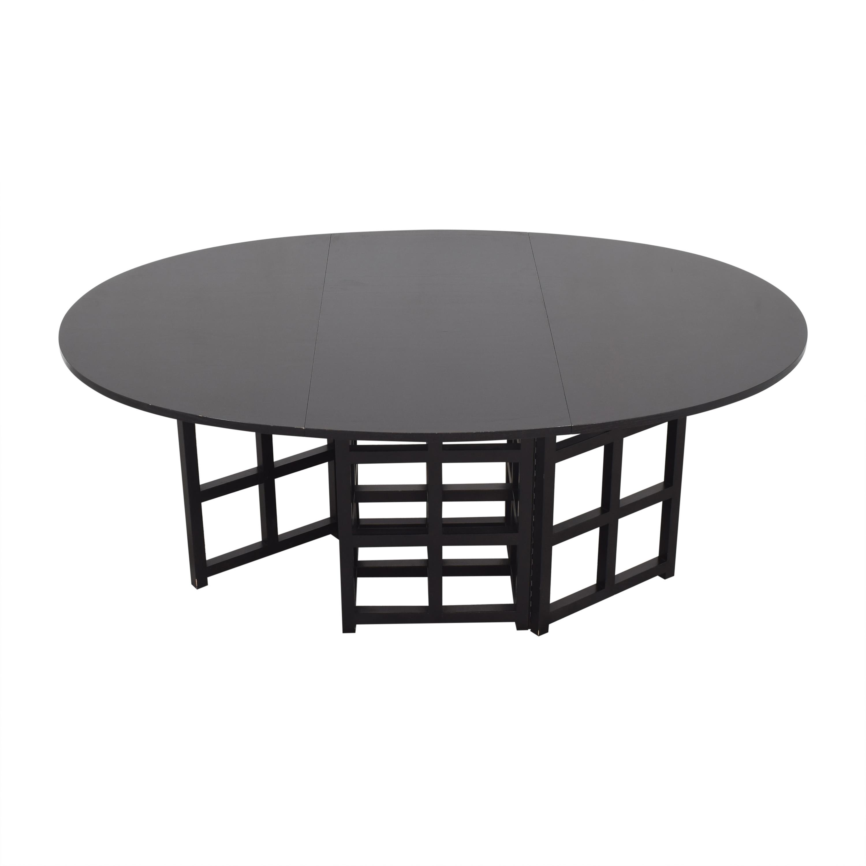 buy Cassina Gateleg Dining Table by Charles Rennie Macintosh Cassina