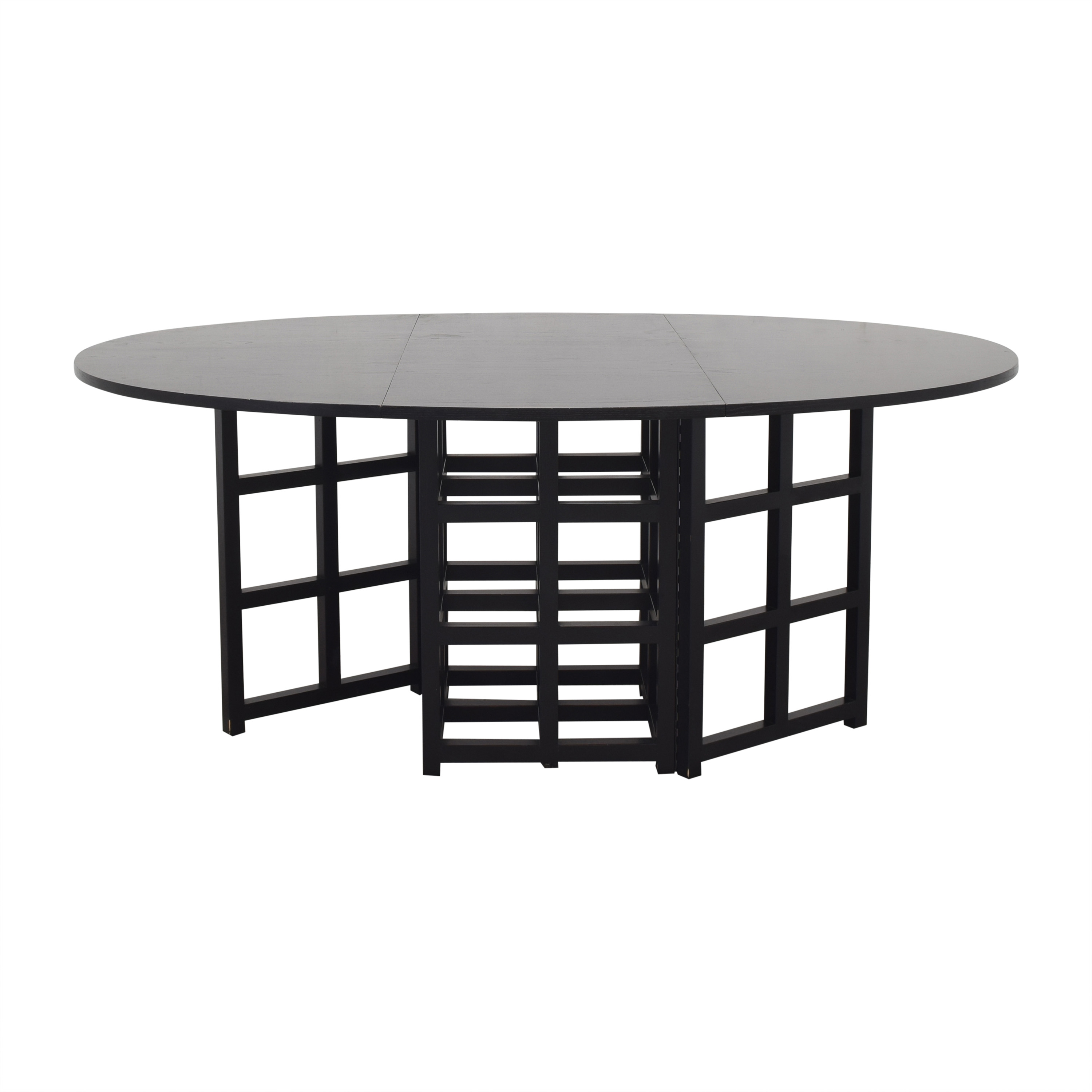 Cassina Cassina Gateleg Dining Table by Charles Rennie Macintosh dimensions
