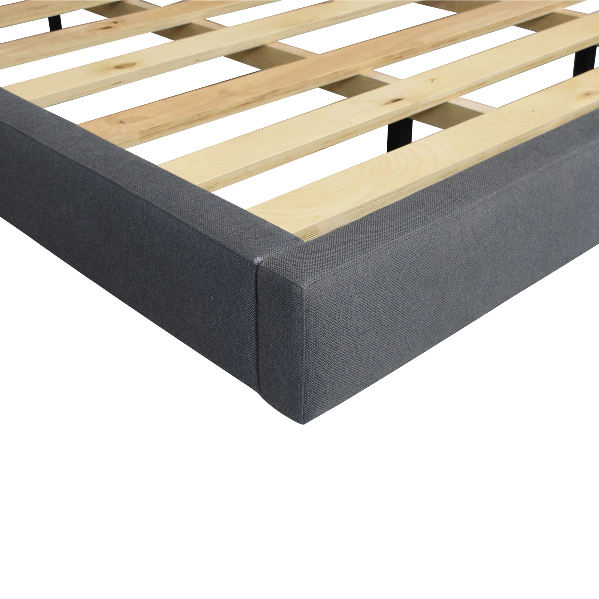 Crate & Barrel Crate & Barrel Tate California King Upholstered Bed dimensions
