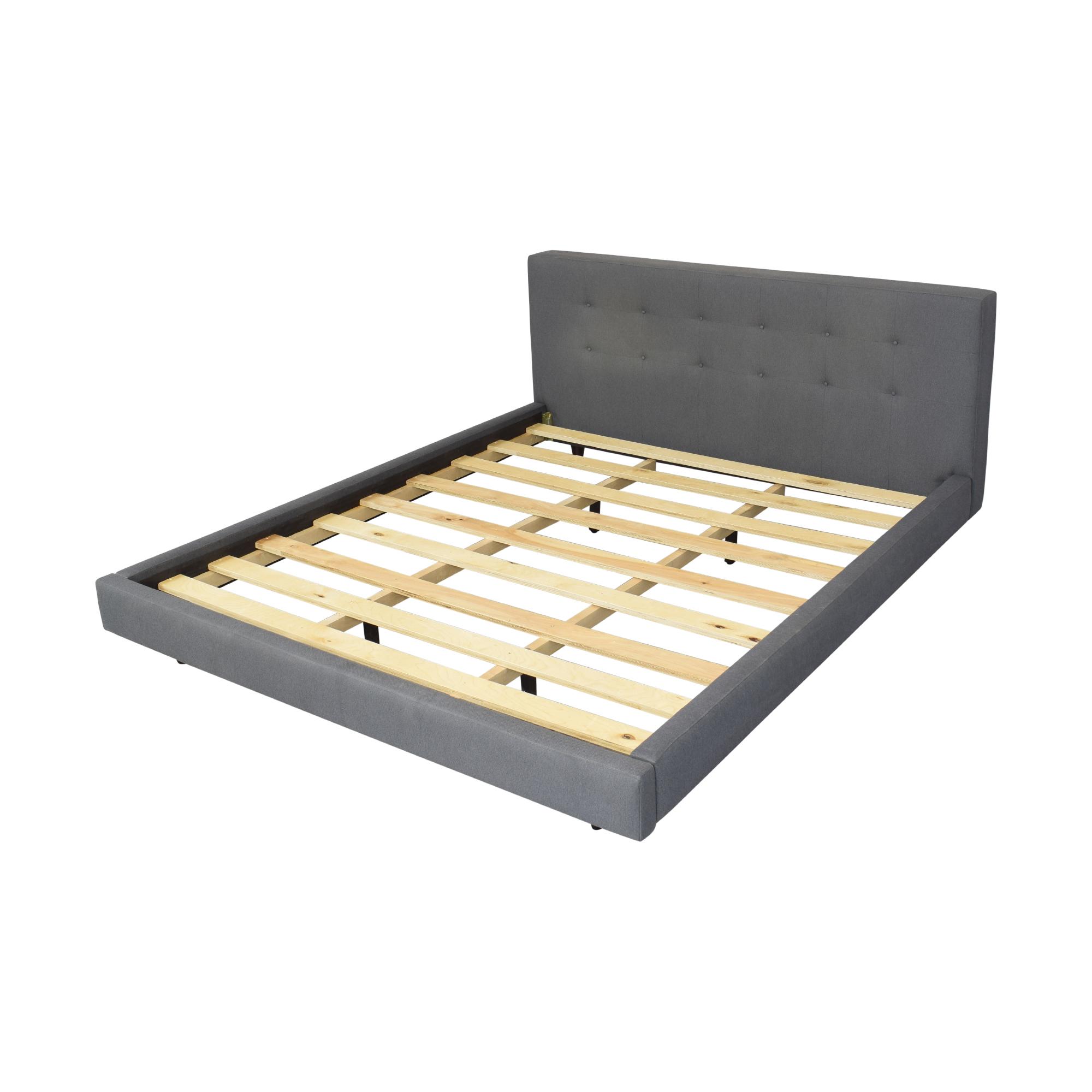 shop Crate & Barrel Crate & Barrel Tate California King Upholstered Bed online