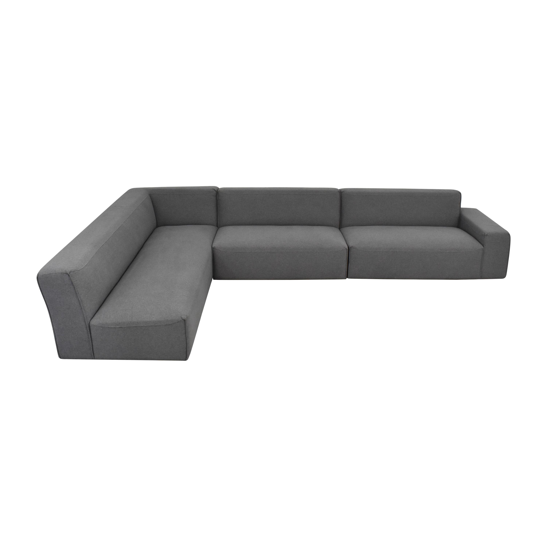 buy Interior Define Crawford Sectional Sofa Interior Define Sofas