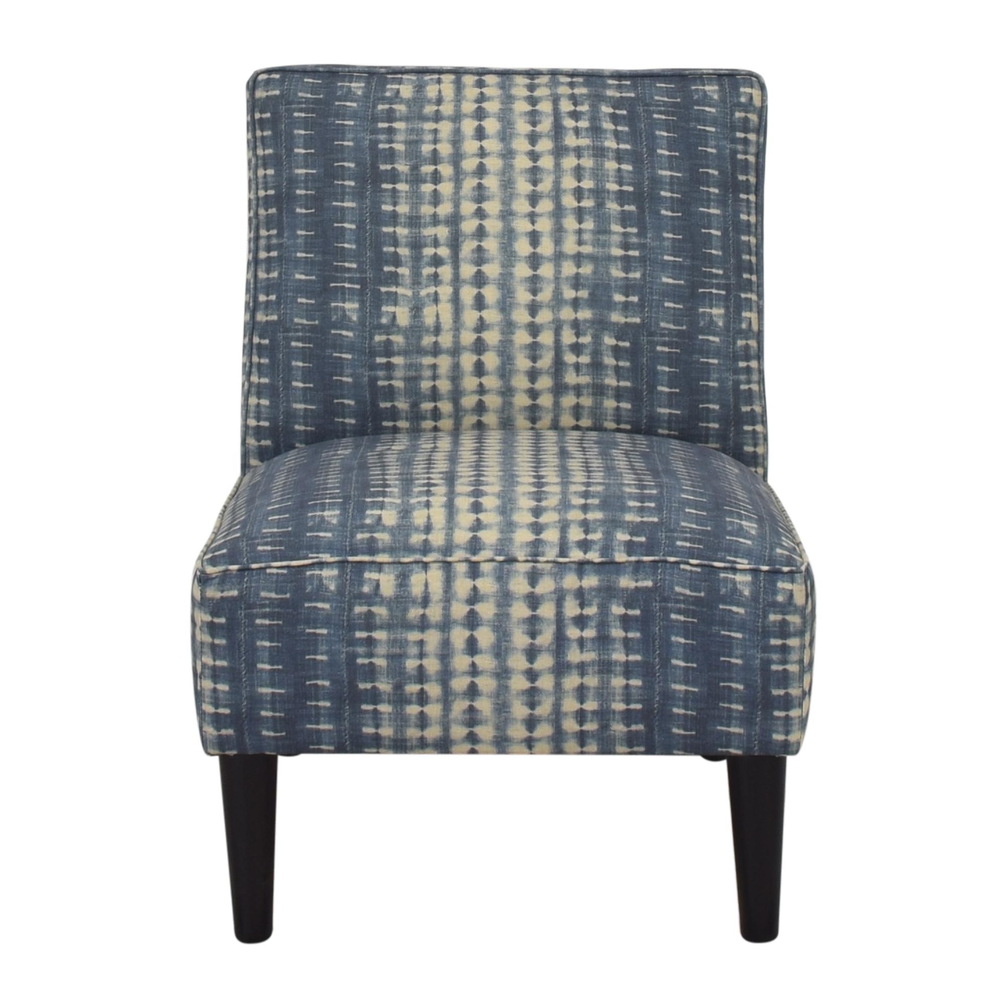 The Inside The Inside Slipper Chair blue