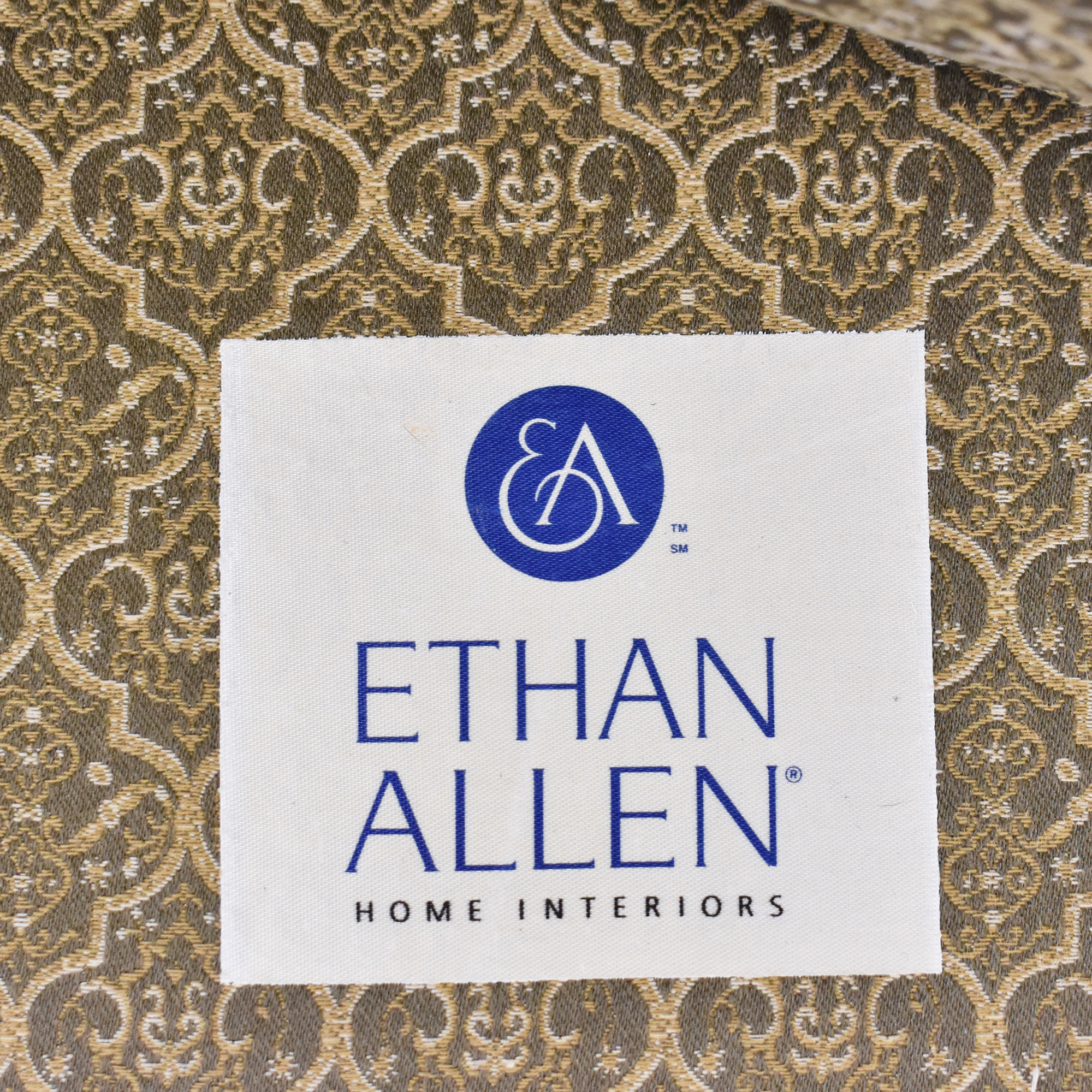 Ethan Allen Ethan Allen Queen Anne Wing Chair Accent Chairs