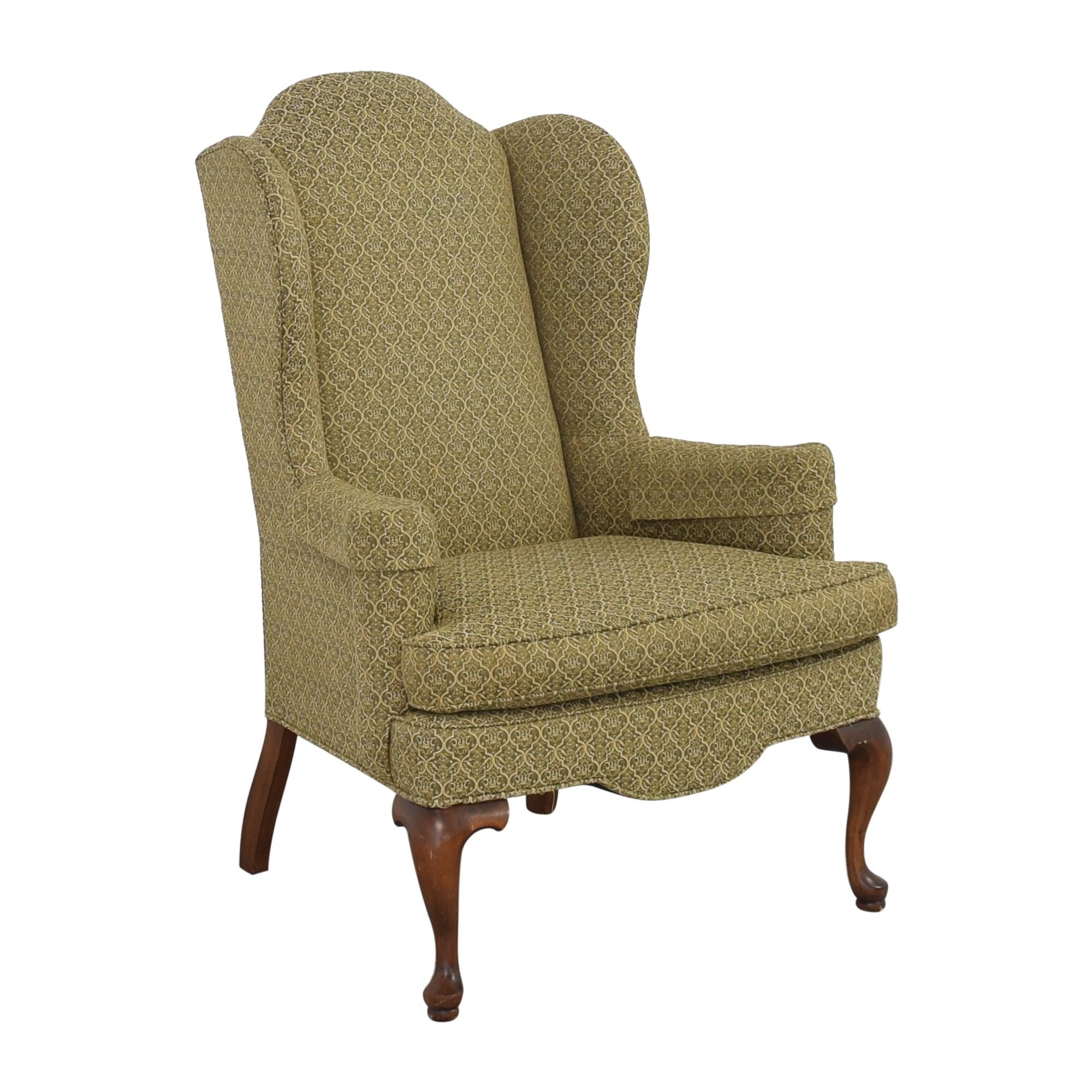 buy Ethan Allen Queen Anne Wing Chair Ethan Allen