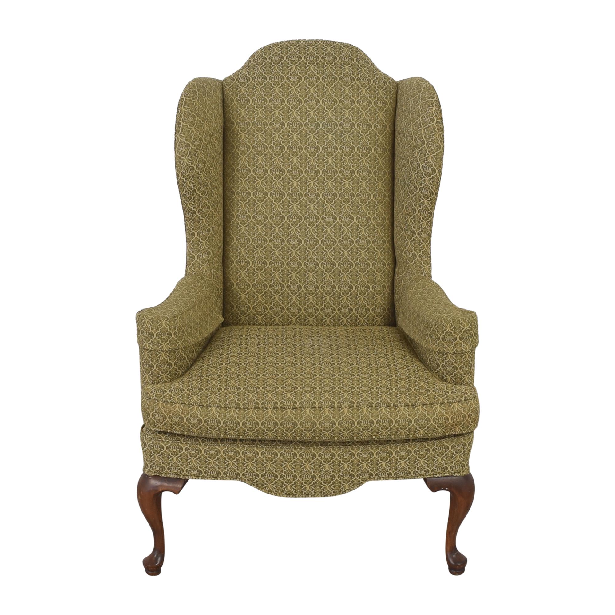 Ethan Allen Ethan Allen Queen Anne Wing Chair dimensions