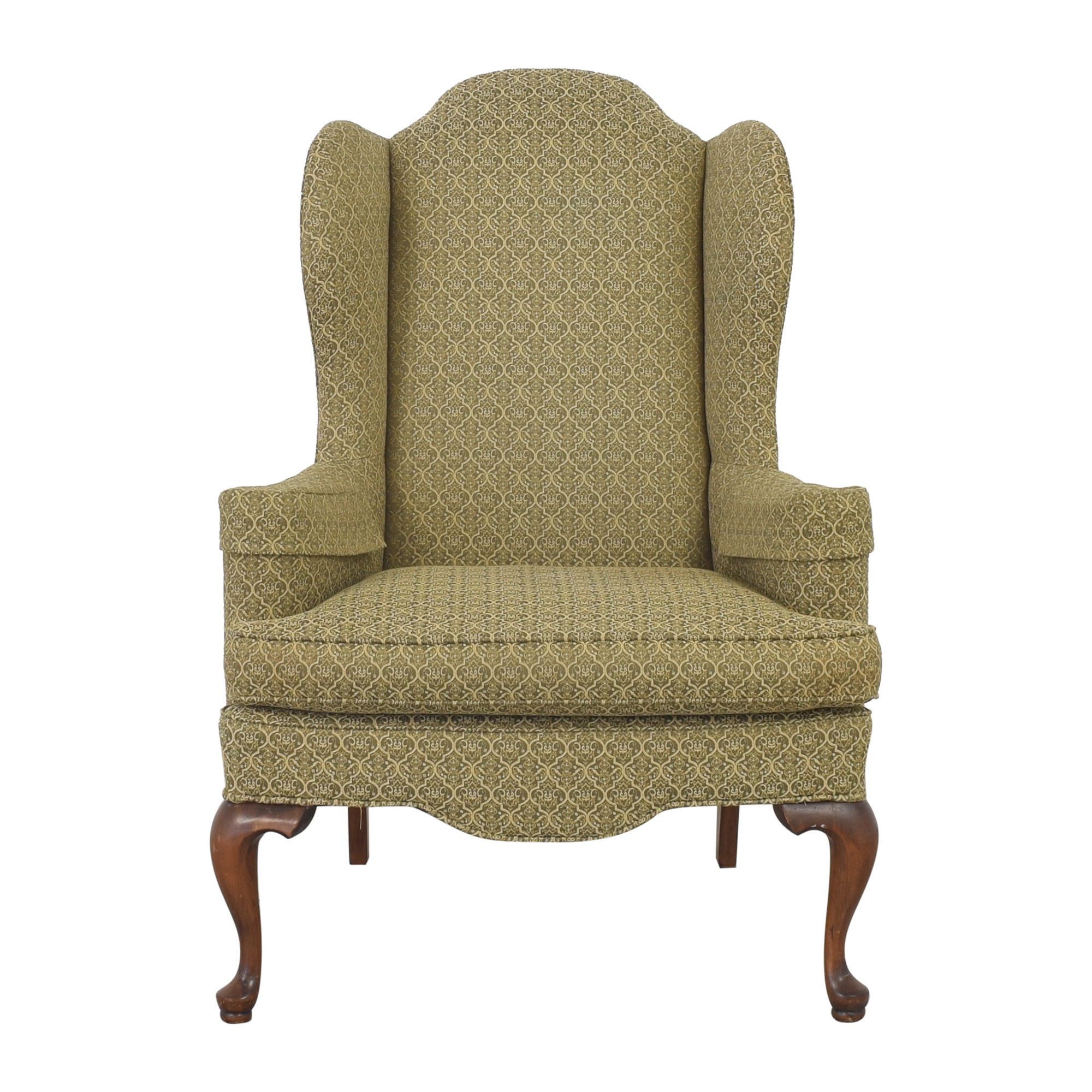 Ethan Allen Queen Anne Wing Chair / Accent Chairs