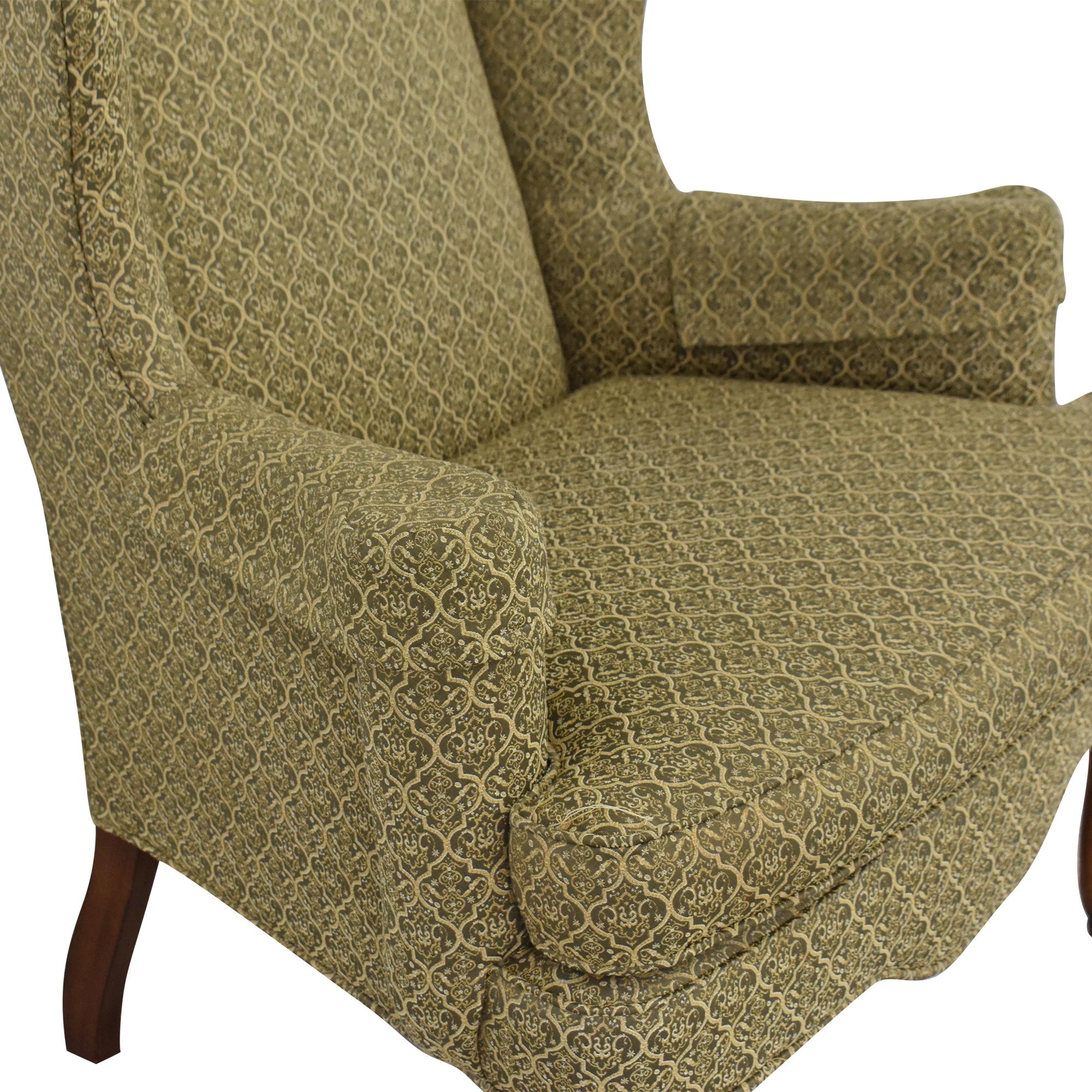 shop Ethan Allen Queen Anne Wing Chair Ethan Allen Chairs