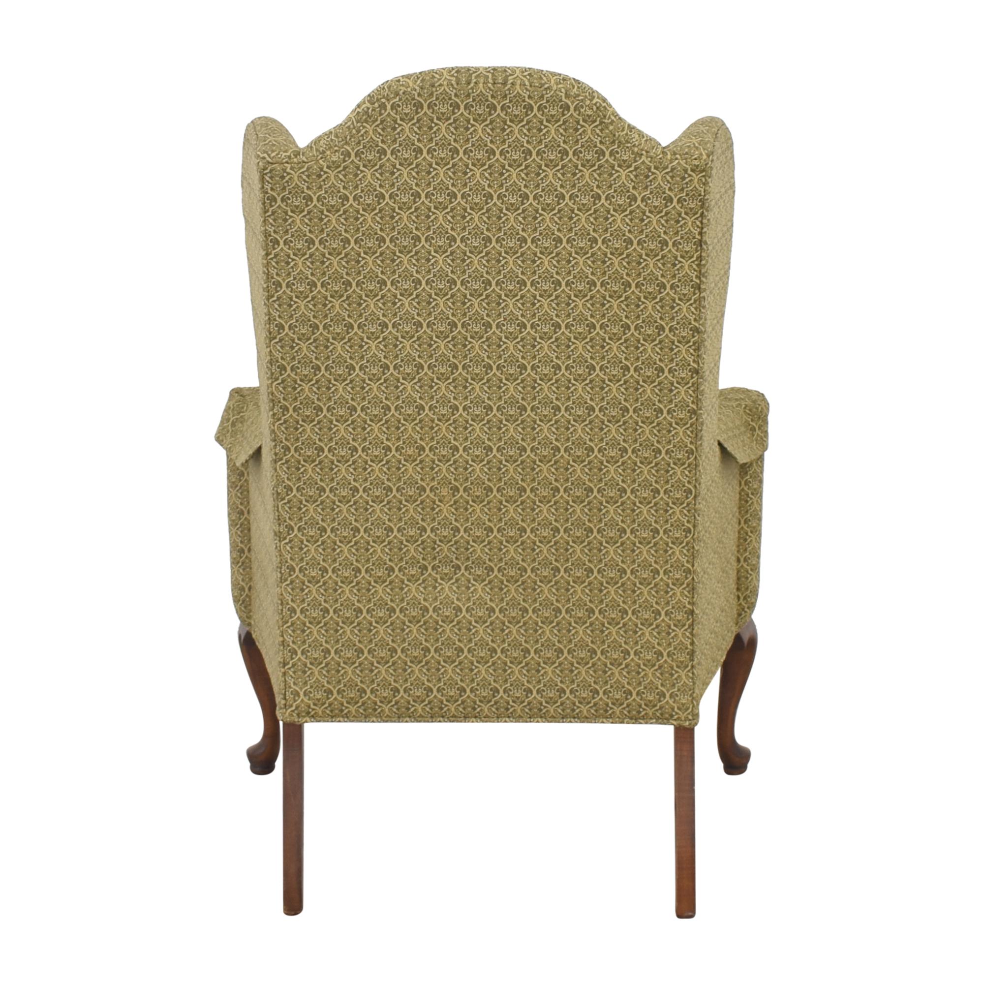 Ethan Allen Ethan Allen Queen Anne Wing Chair second hand