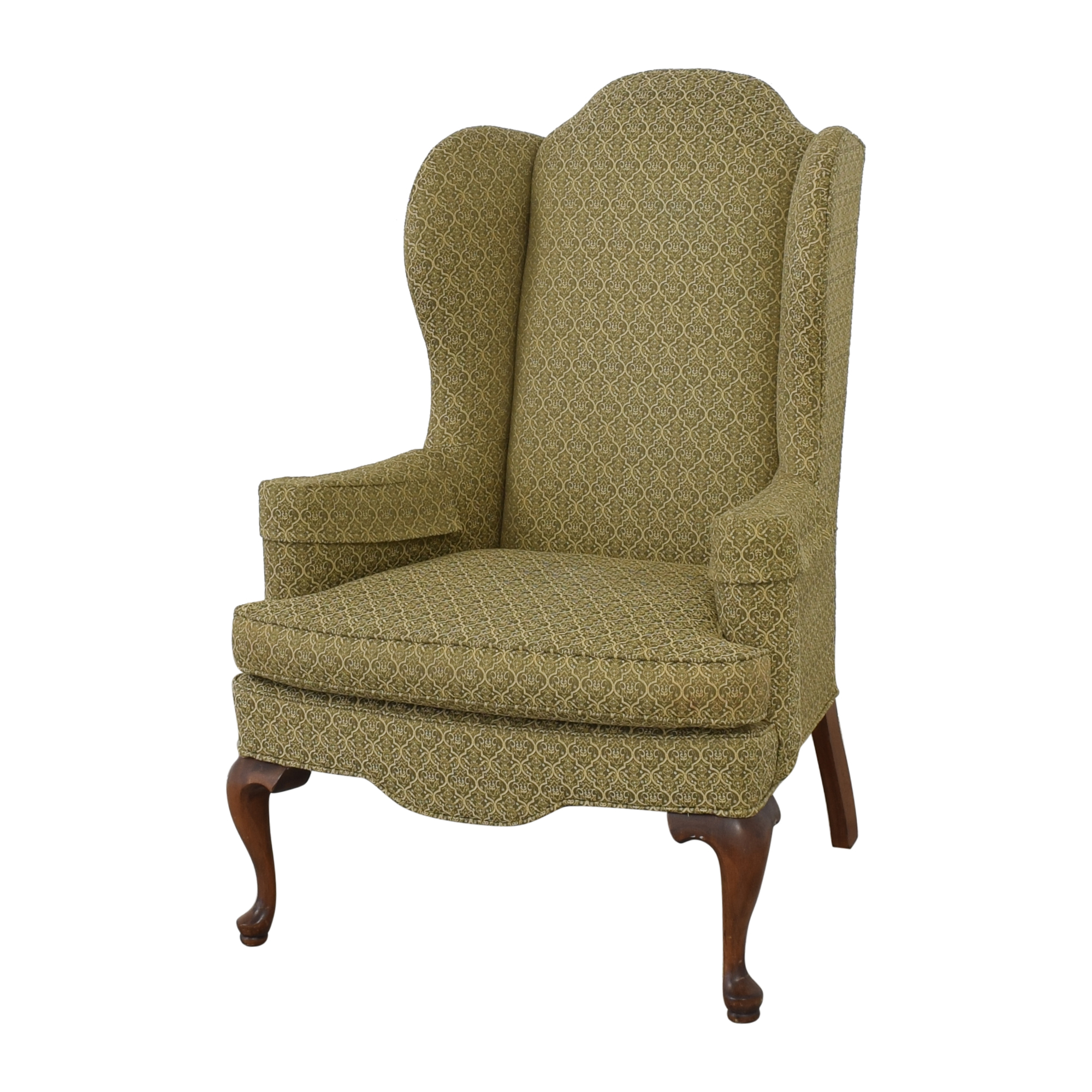 Ethan Allen Ethan Allen Queen Anne Wing Chair nj