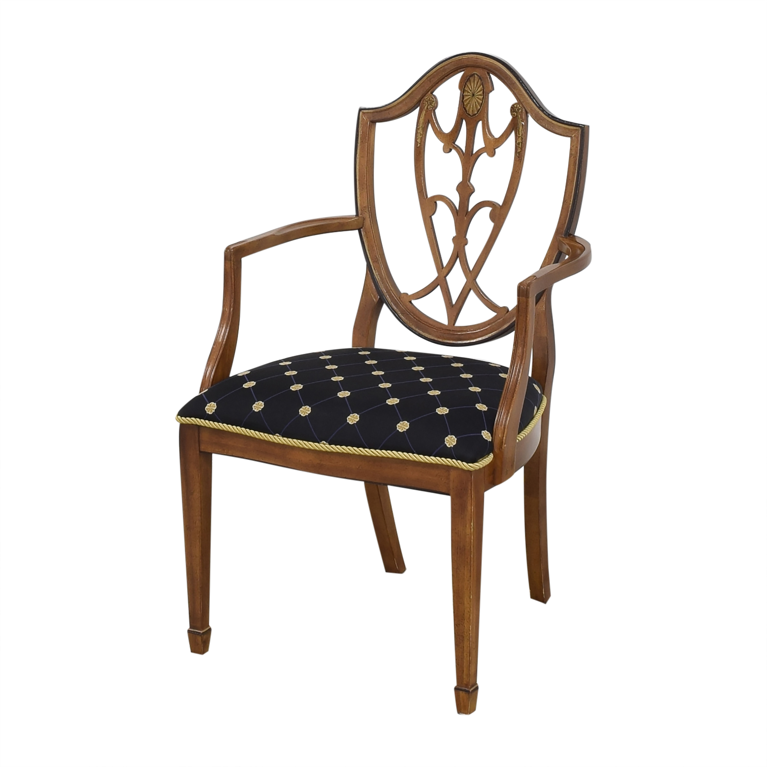 Drexel Drexel Upholstered Dining Arm Chairs Chairs