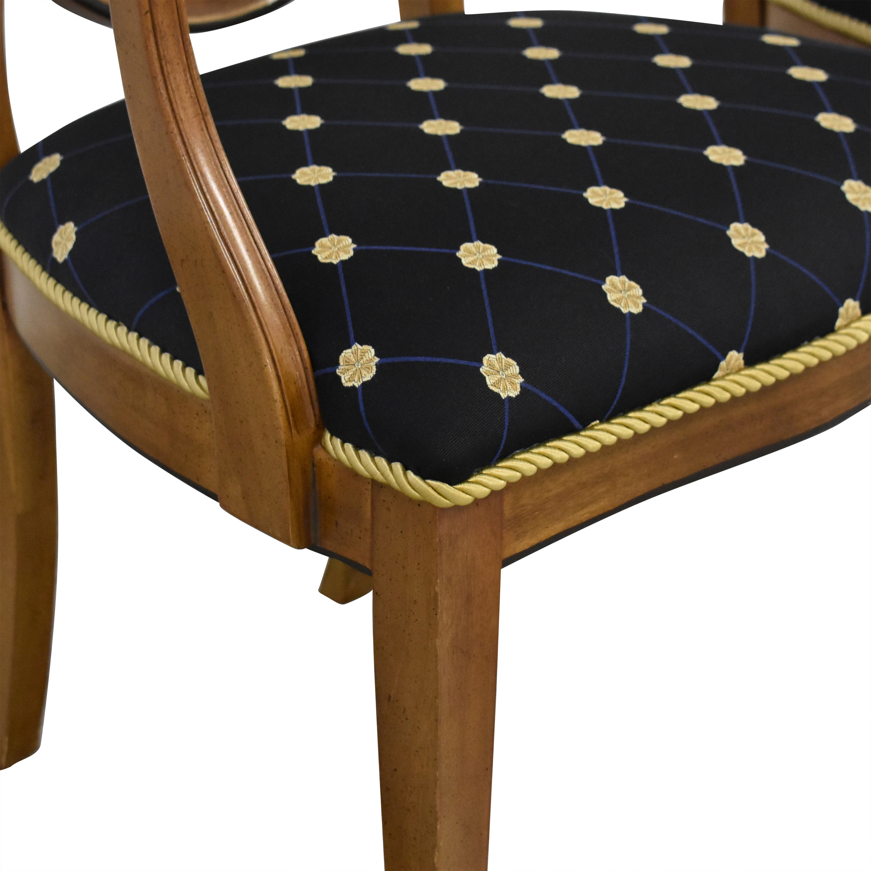 Drexel Drexel Upholstered Dining Arm Chairs pa