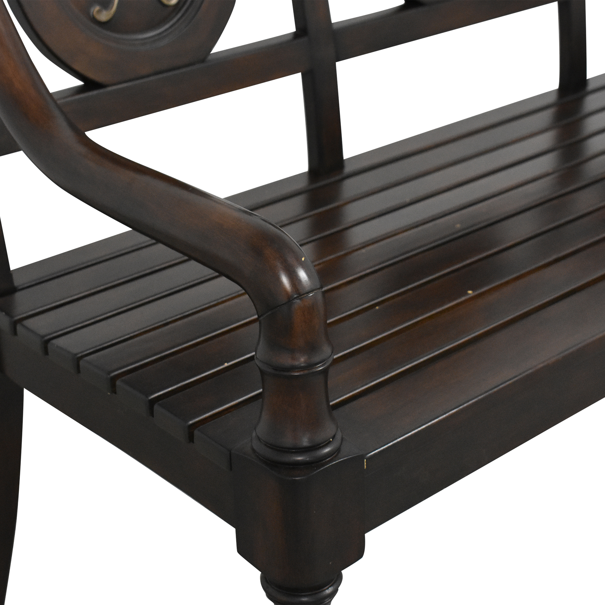 Hooker Furniture Hooker Furniture PGA Tour Collection Golf Bench discount