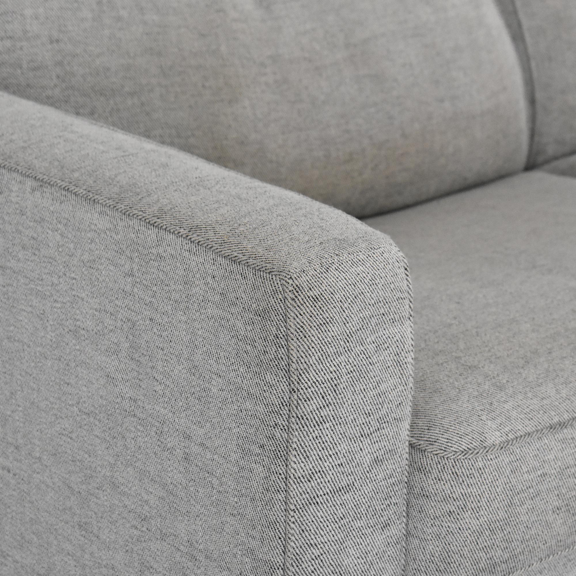 Natuzzi Natuzzi Two Cushion Sleeper Sofa on sale