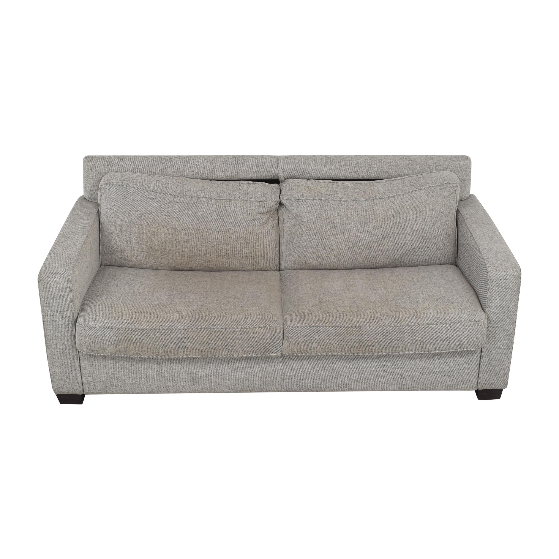 Natuzzi Natuzzi Two Cushion Sleeper Sofa nyc