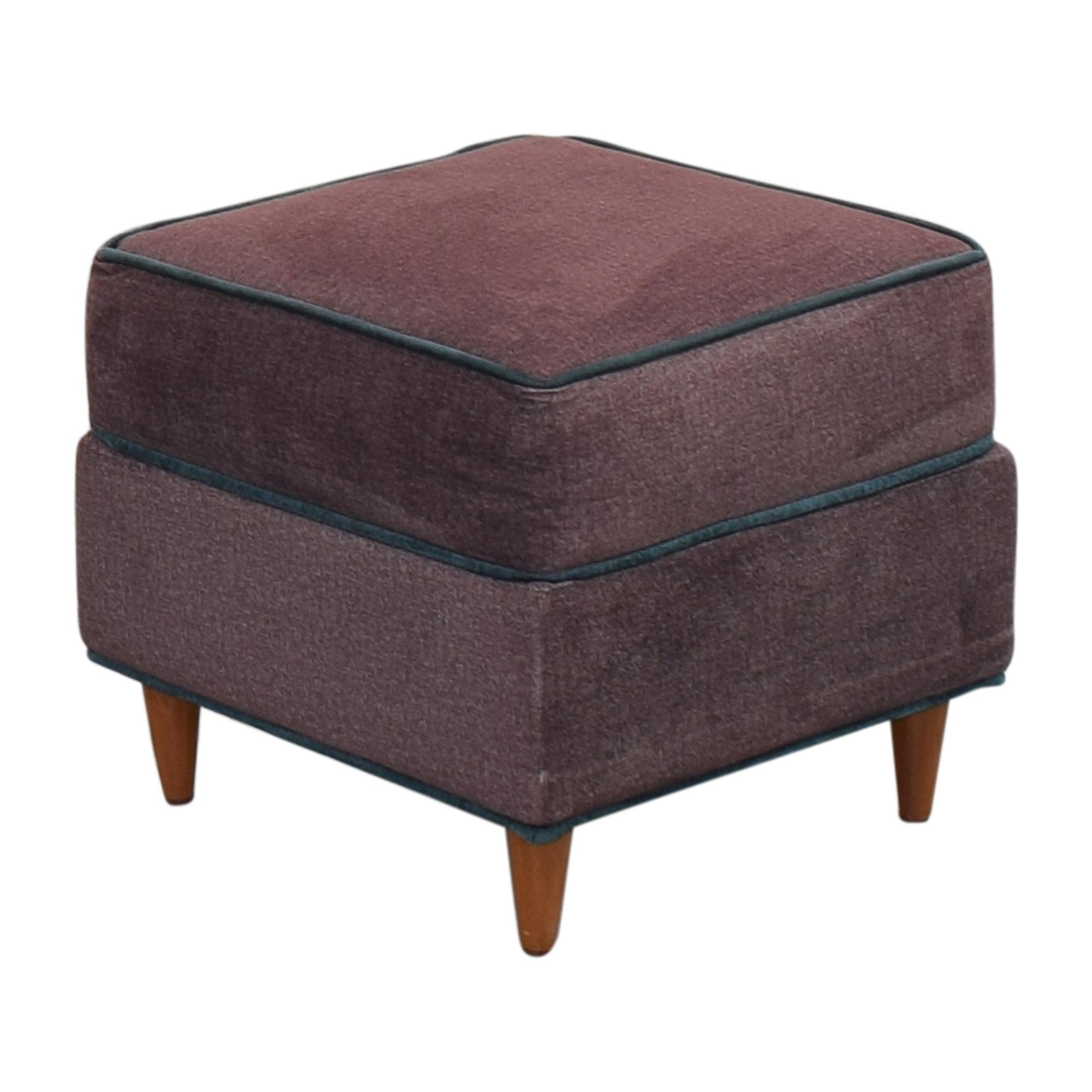 Custom Upholstered Ottoman nj