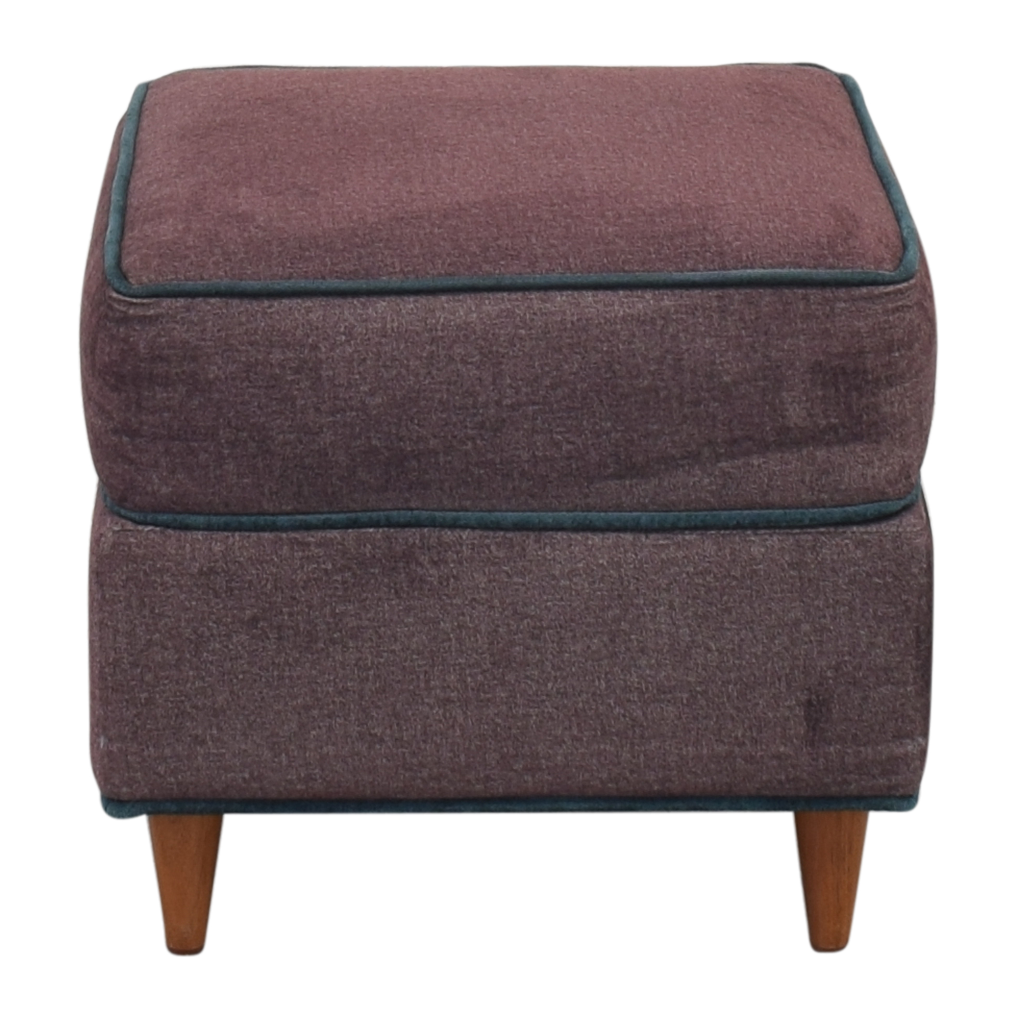 Custom Upholstered Ottoman on sale