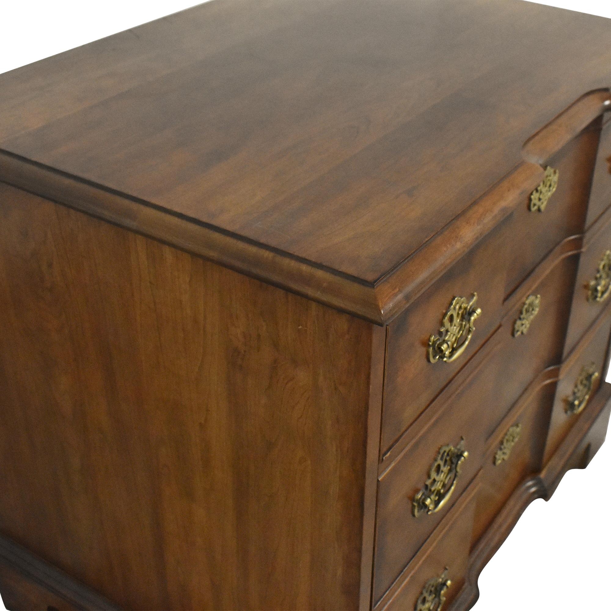 Cabinet with Hidden Lift Up Door brown